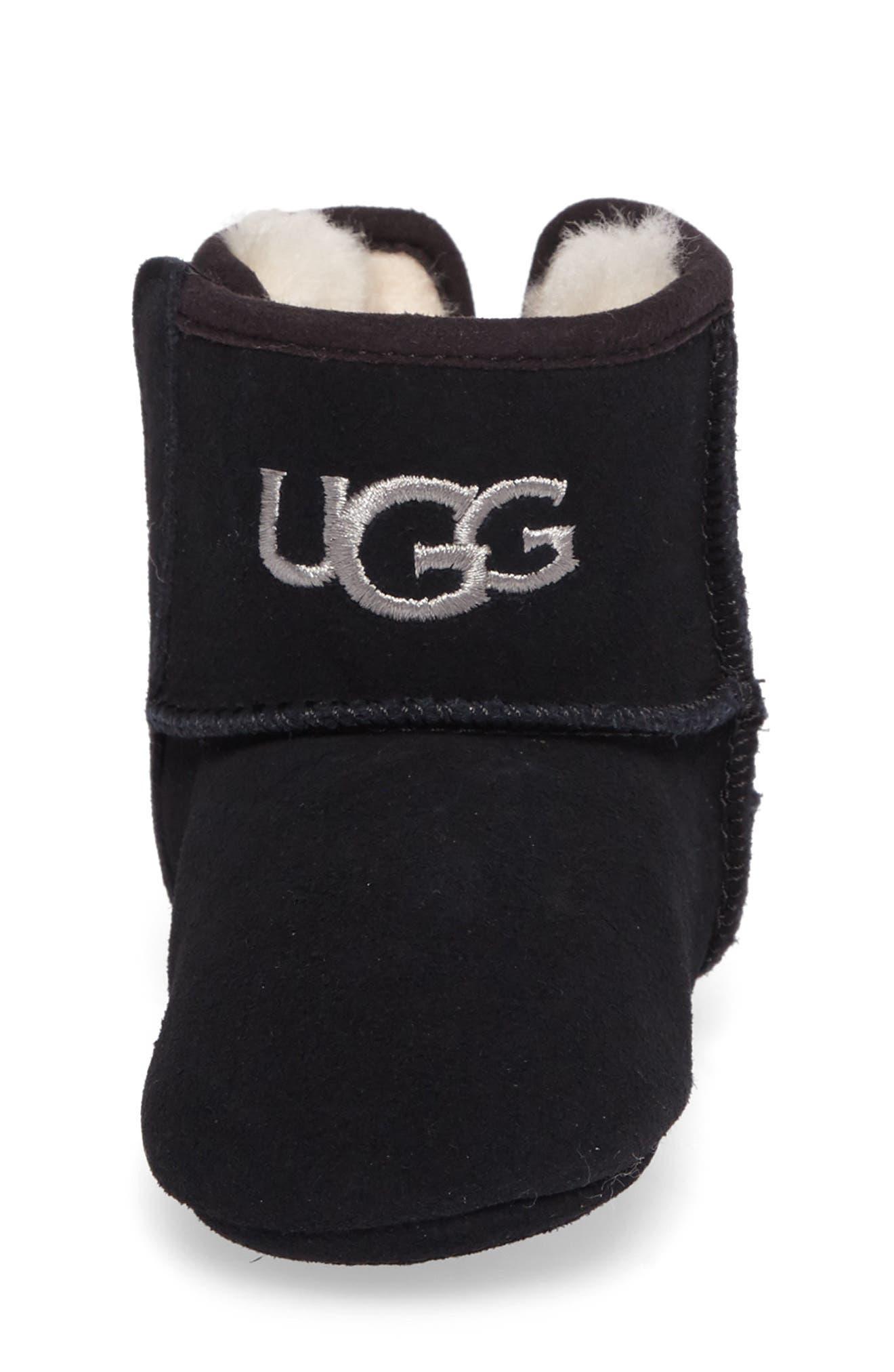 Alternate Image 4  - UGG® Jesse II Bow Boot (Baby & Walker)