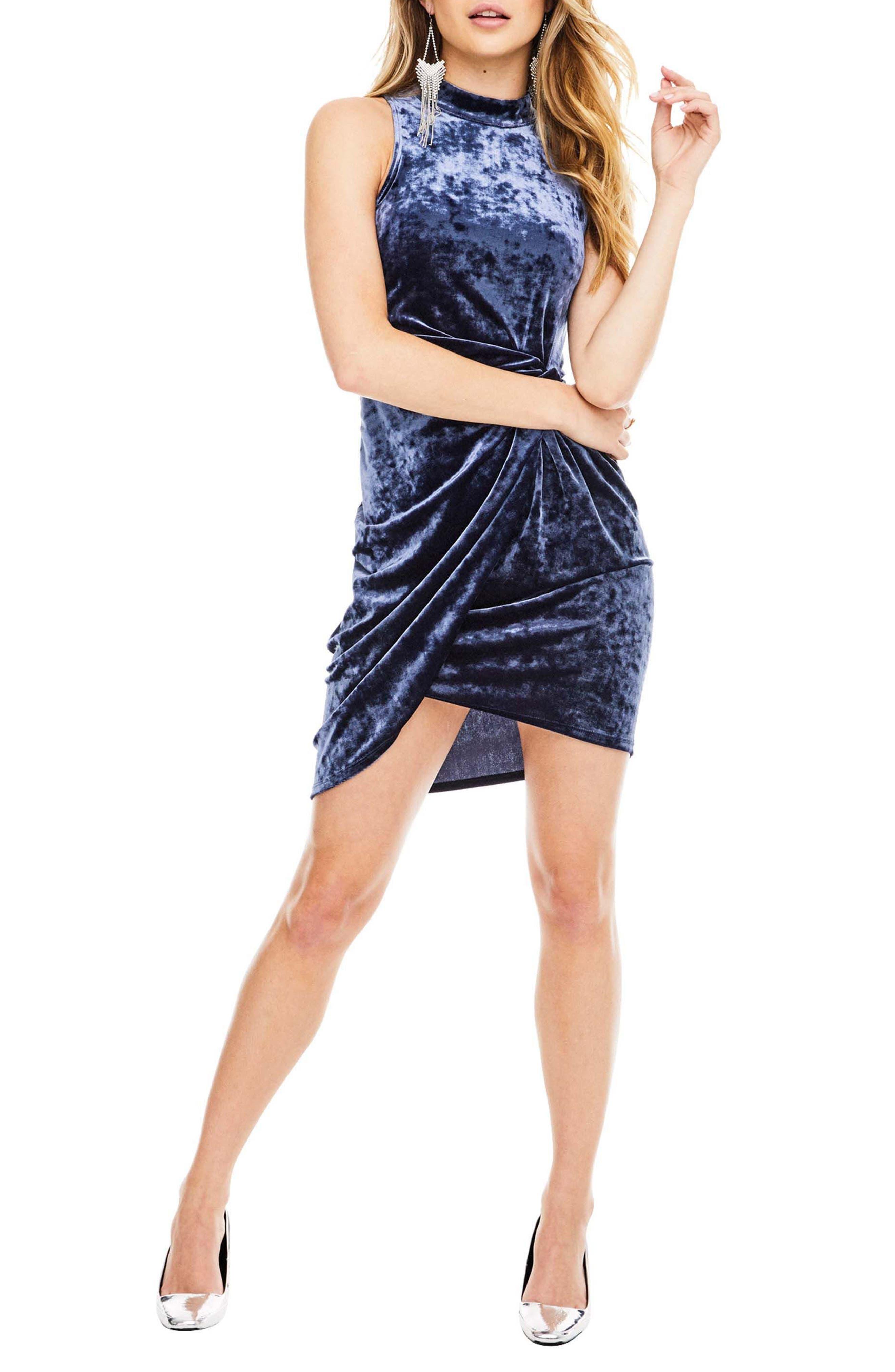Avalon Body-Con Dress,                         Main,                         color, Sapphire