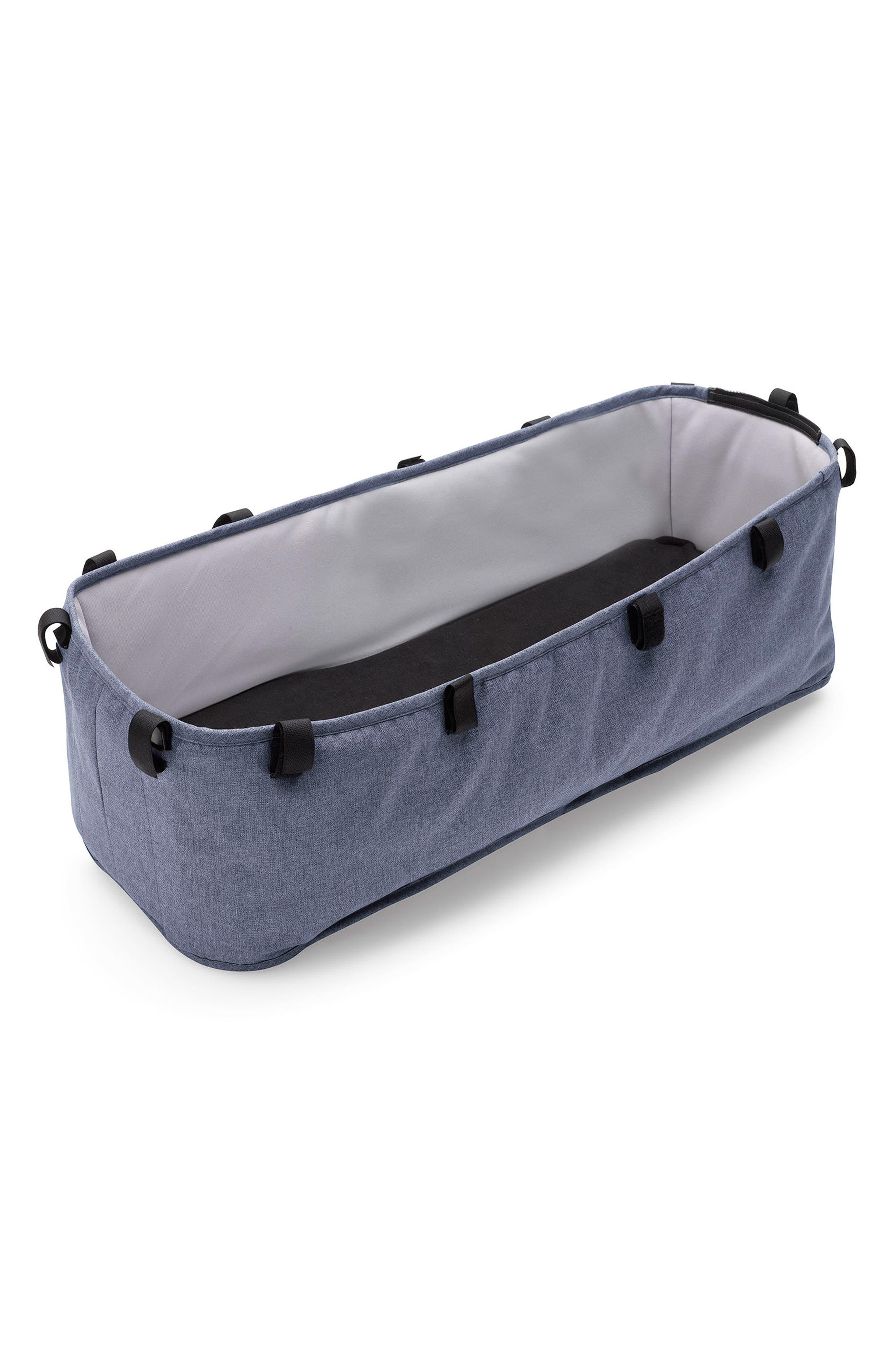 Bassinet Tailored Fabric Set for Donkey2 Stroller,                             Alternate thumbnail 2, color,                             Blue Melange