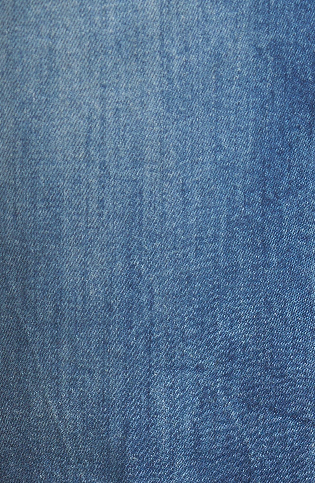 Alternate Image 5  - AG Everett Slim Straight Leg Jeans (12 Year Off Ramp)