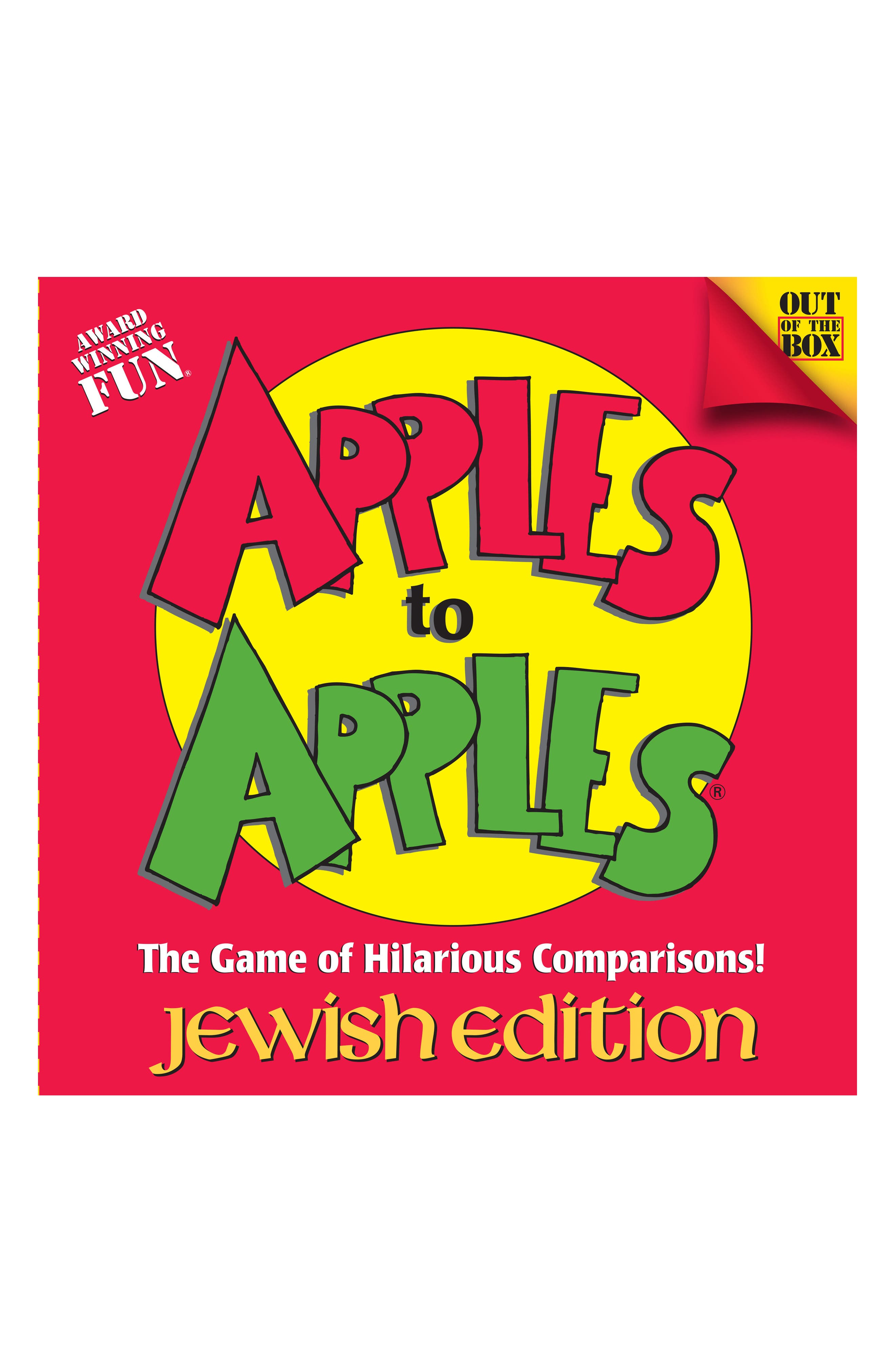 Apples to Apples<sup>®</sup>, Jewish Edition,                             Main thumbnail 1, color,                             Red