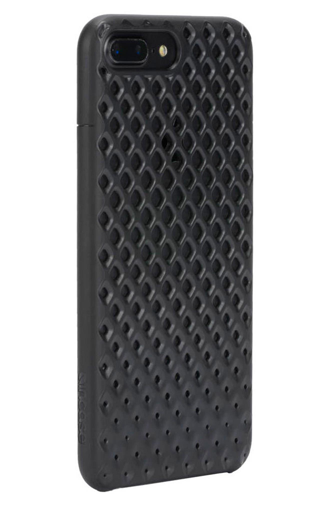 Lite iPhone 7 Plus & 8 Plus Case,                             Alternate thumbnail 2, color,                             Black