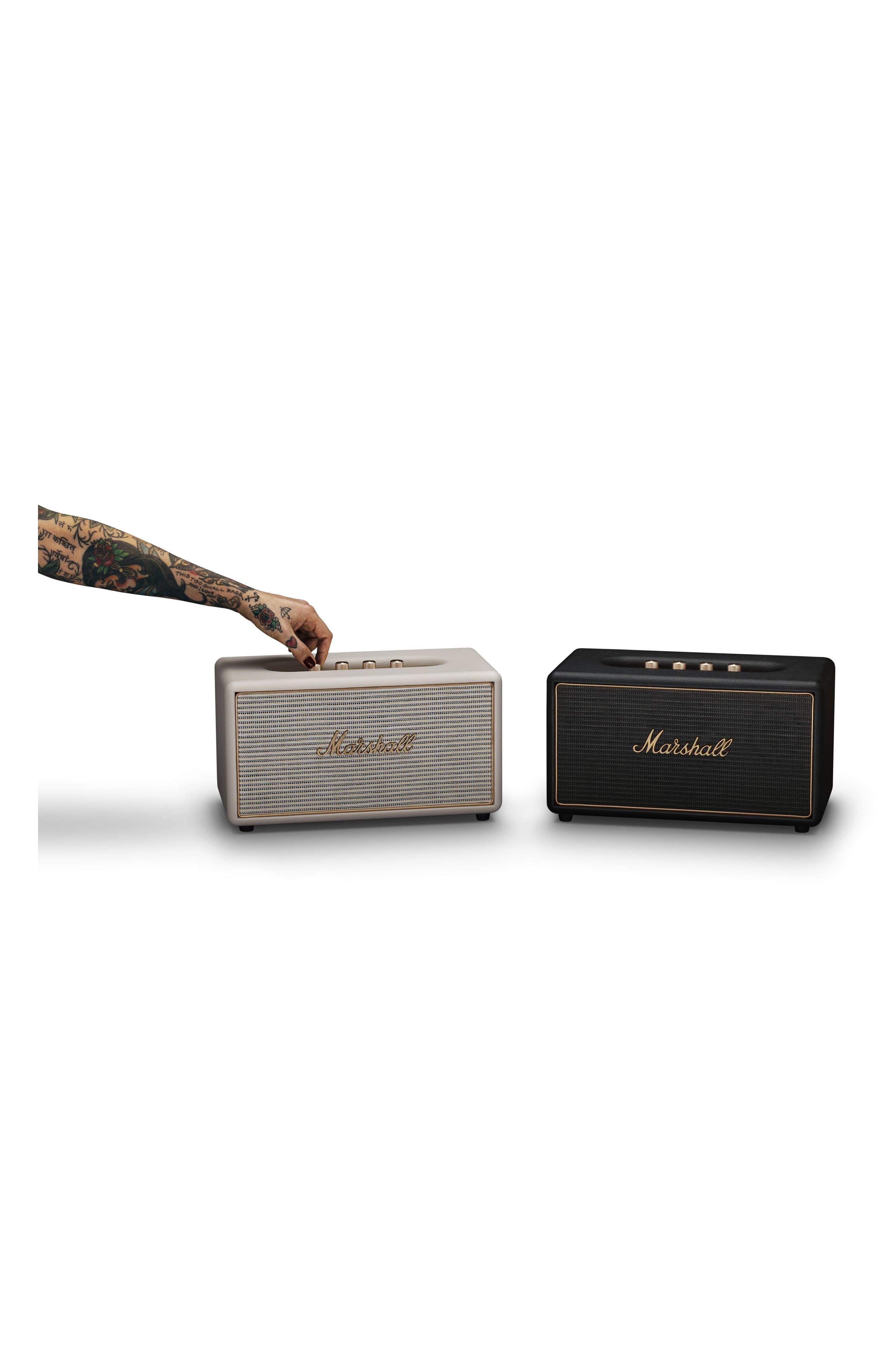 Acton Multi Room WiFi & Bluetooth Speaker,                             Alternate thumbnail 10, color,                             Black