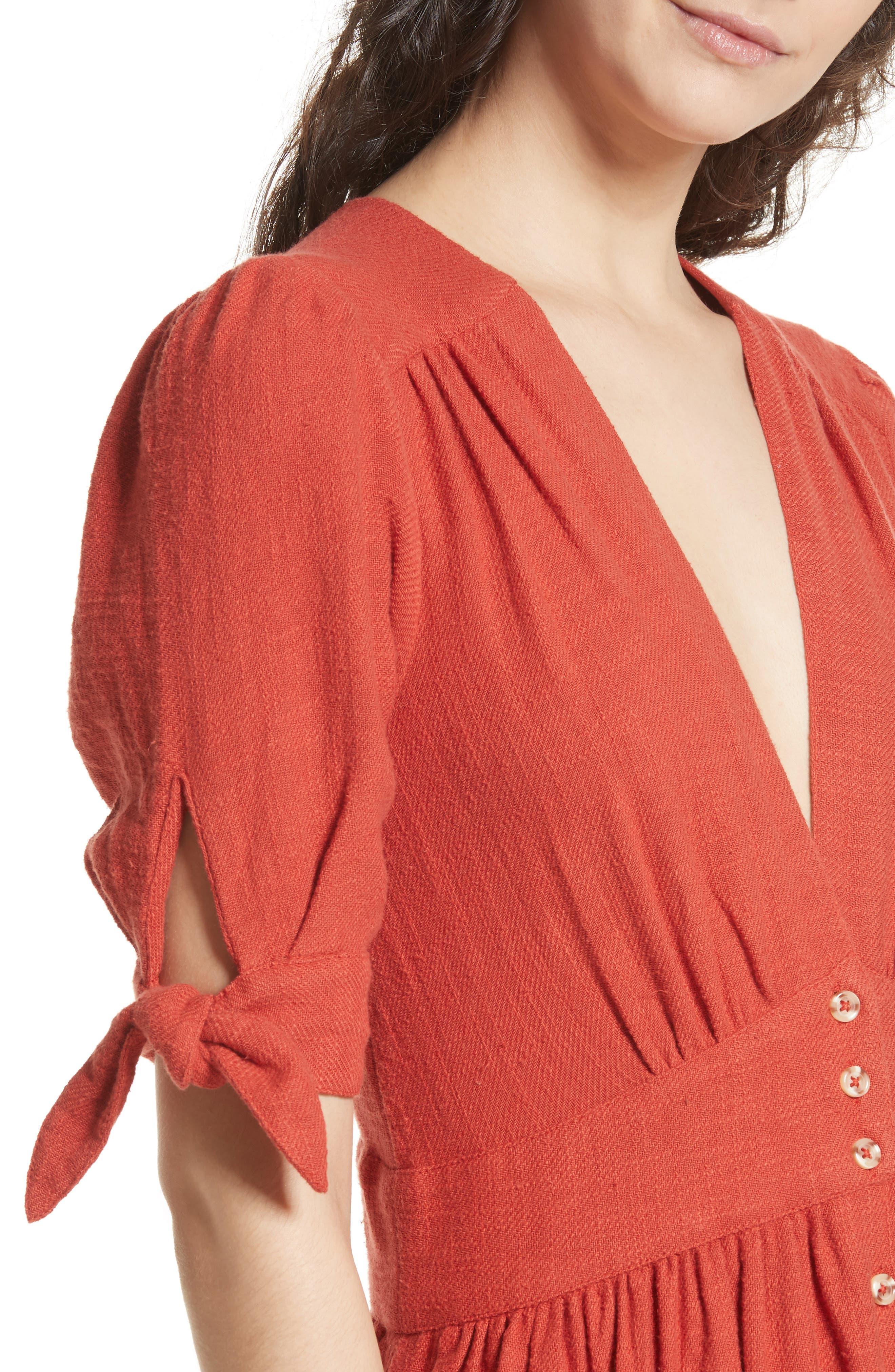 Alternate Image 4  - Free People Love of My Life Midi Dress