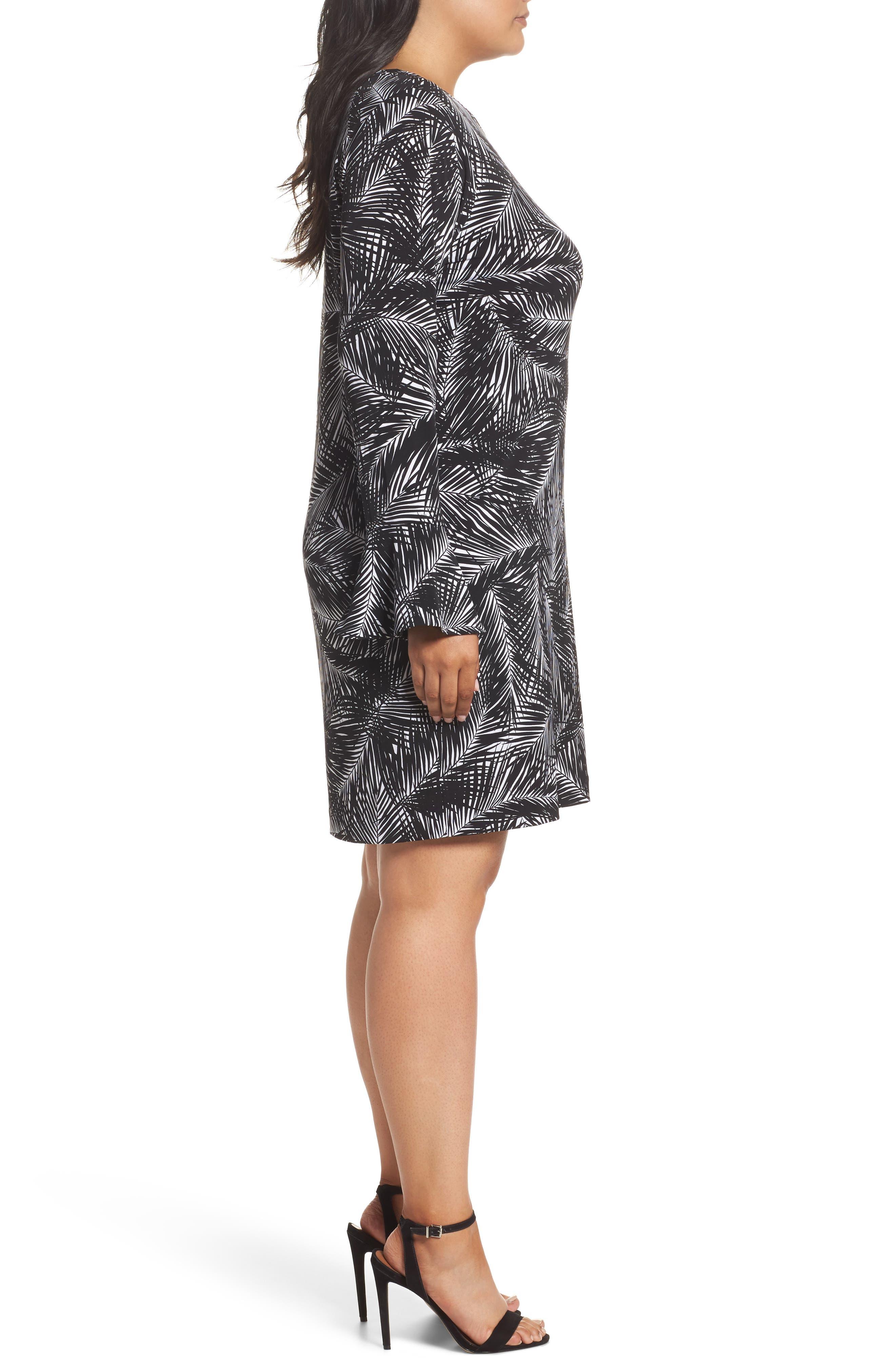 Alternate Image 3  - MICHAEL Michael Kors Abstract Palm Dress (Plus Size)