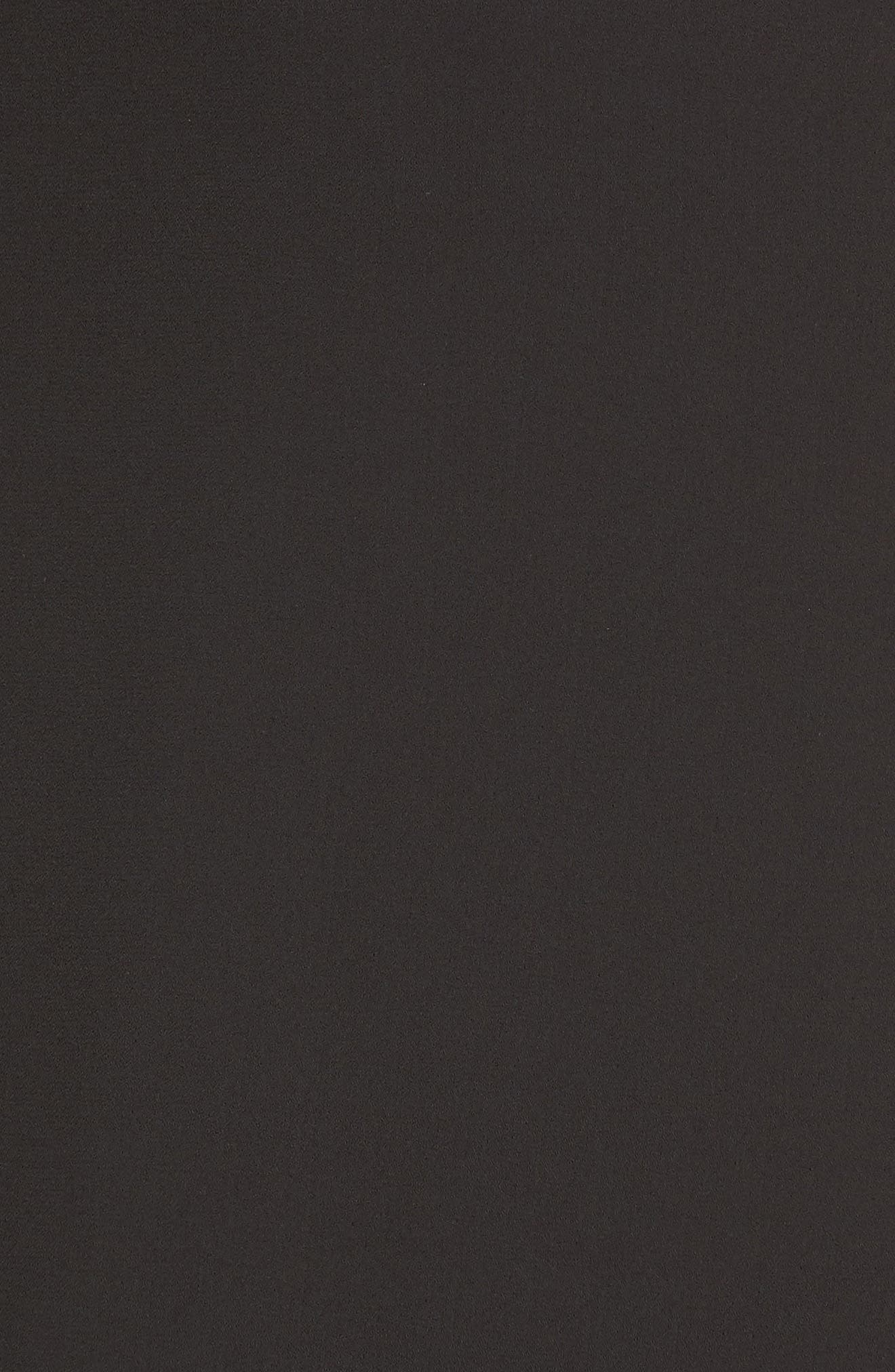 Tie Strap Maxi Dress,                             Alternate thumbnail 5, color,                             Black