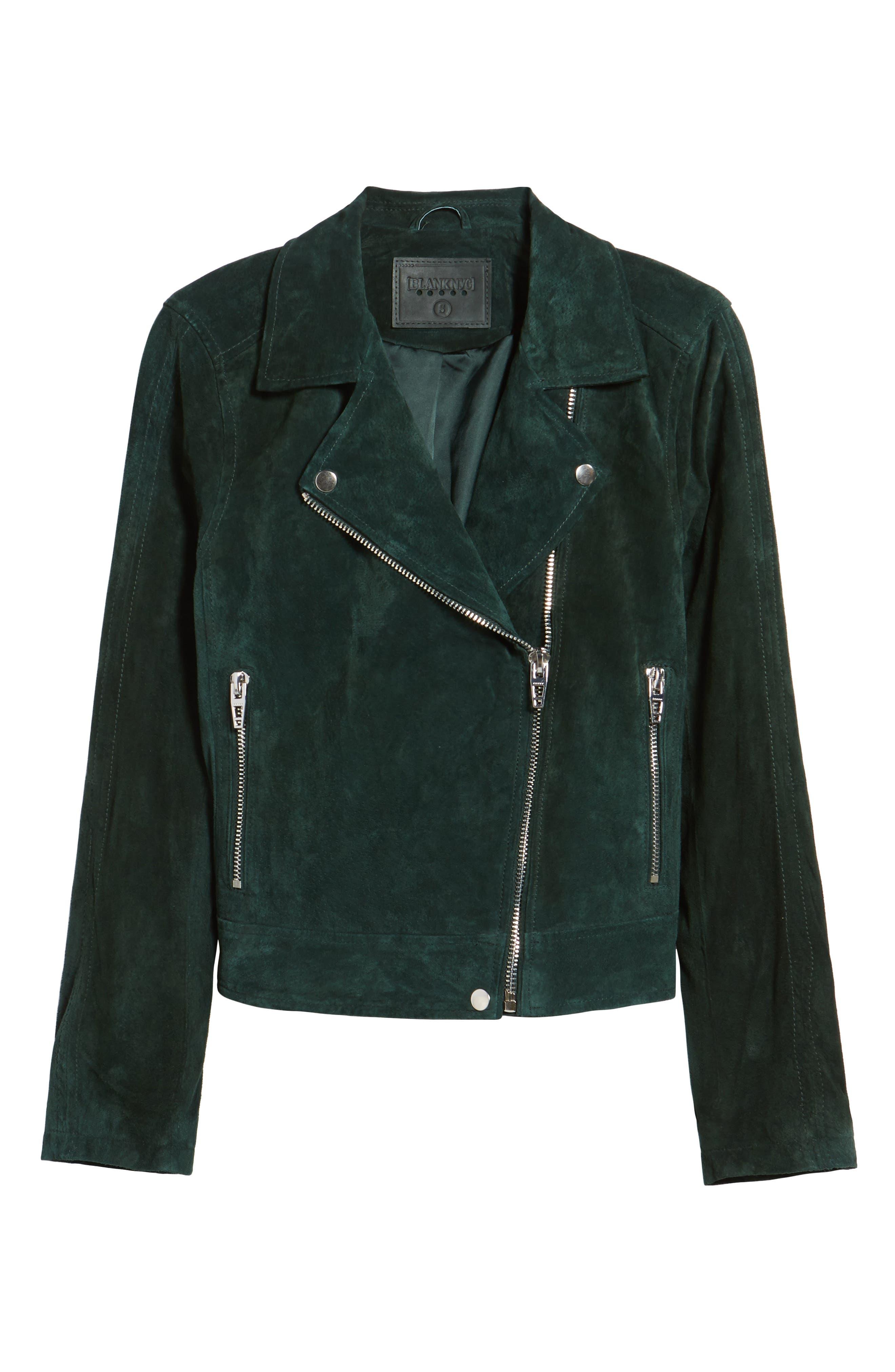 Alternate Image 1 Selected - BLANKNYC Suede Moto Jacket