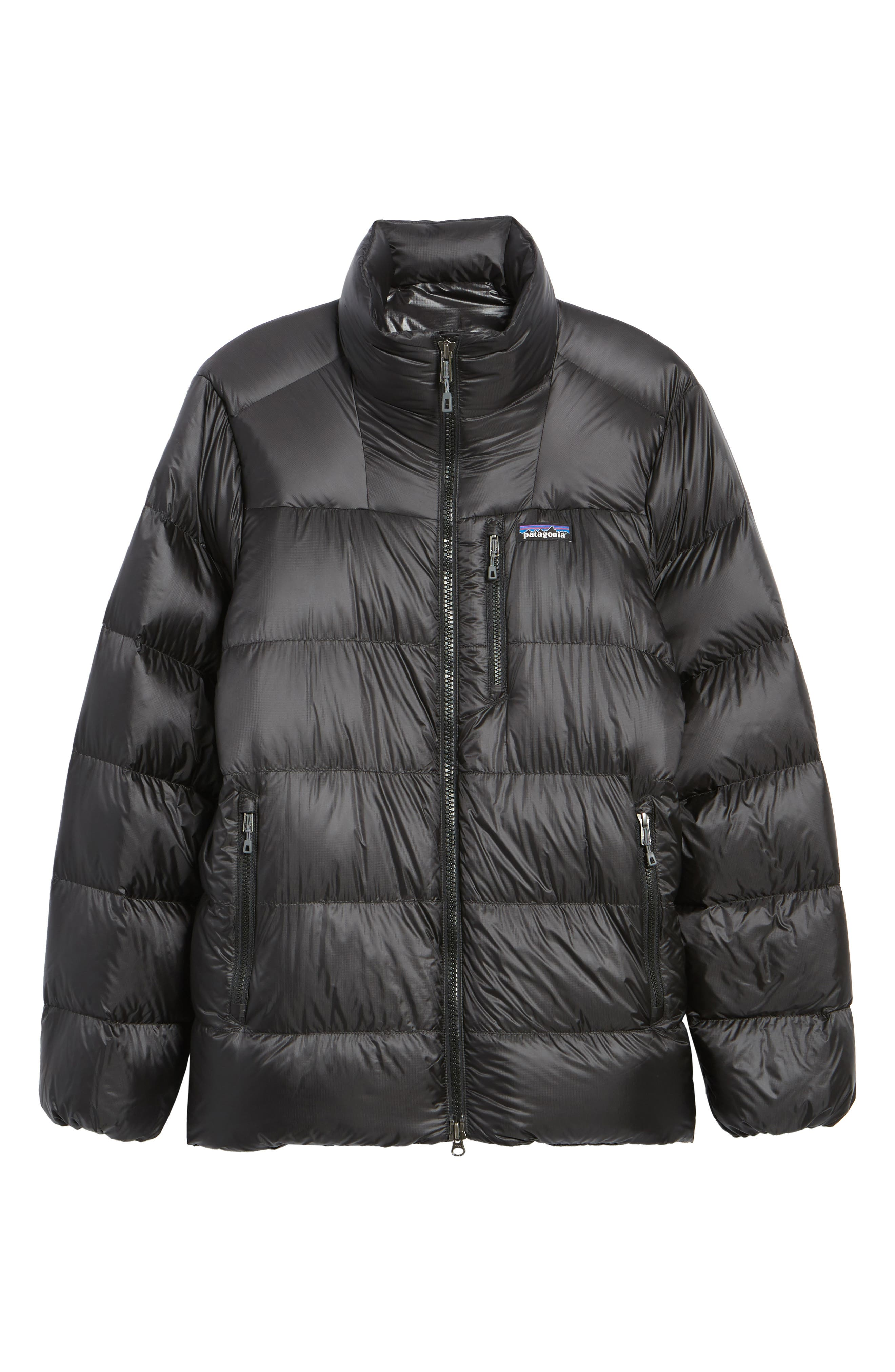Fitz Roy Water Repellent 800-Fill-Power Down Parka,                             Alternate thumbnail 6, color,                             Black