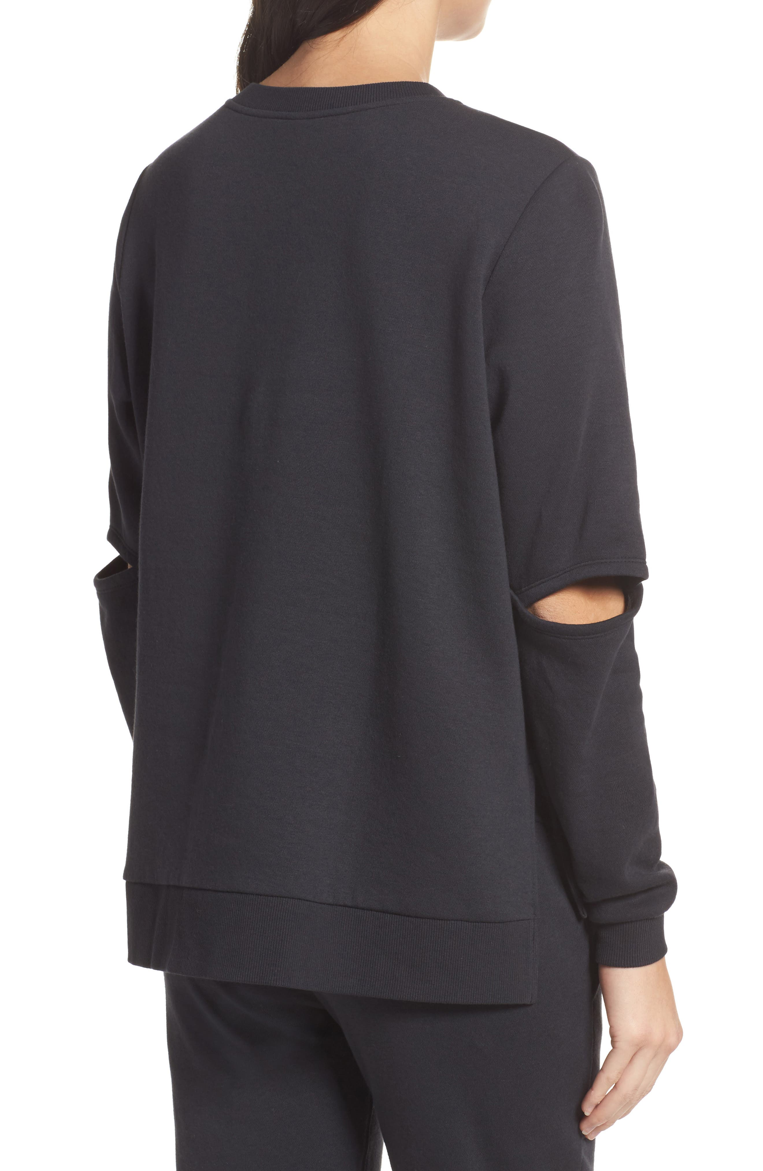Alternate Image 2  - Alternative Cutout Sweatshirt