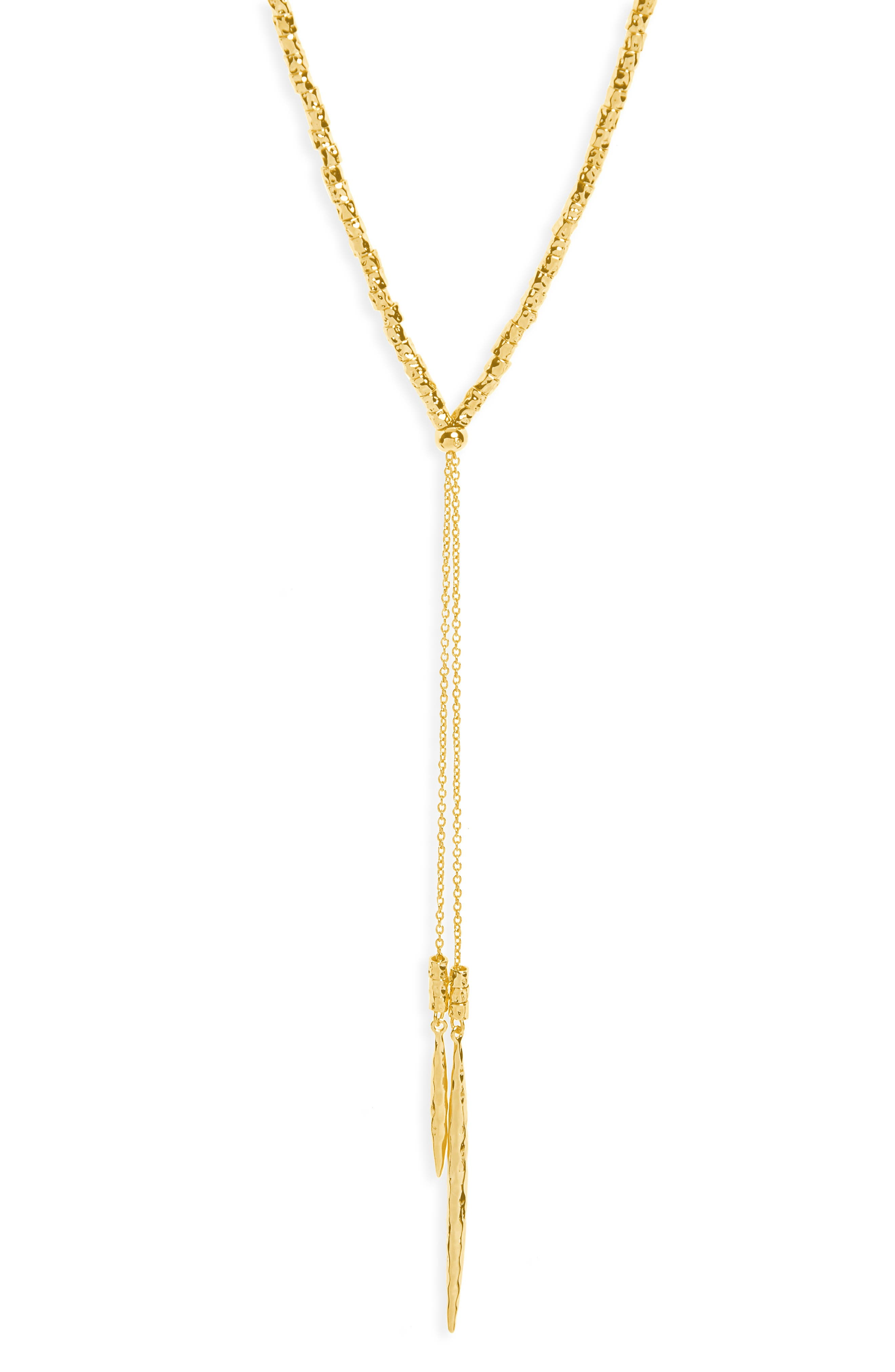 Laguna Adjustable Lariat Necklace,                         Main,                         color, Gold