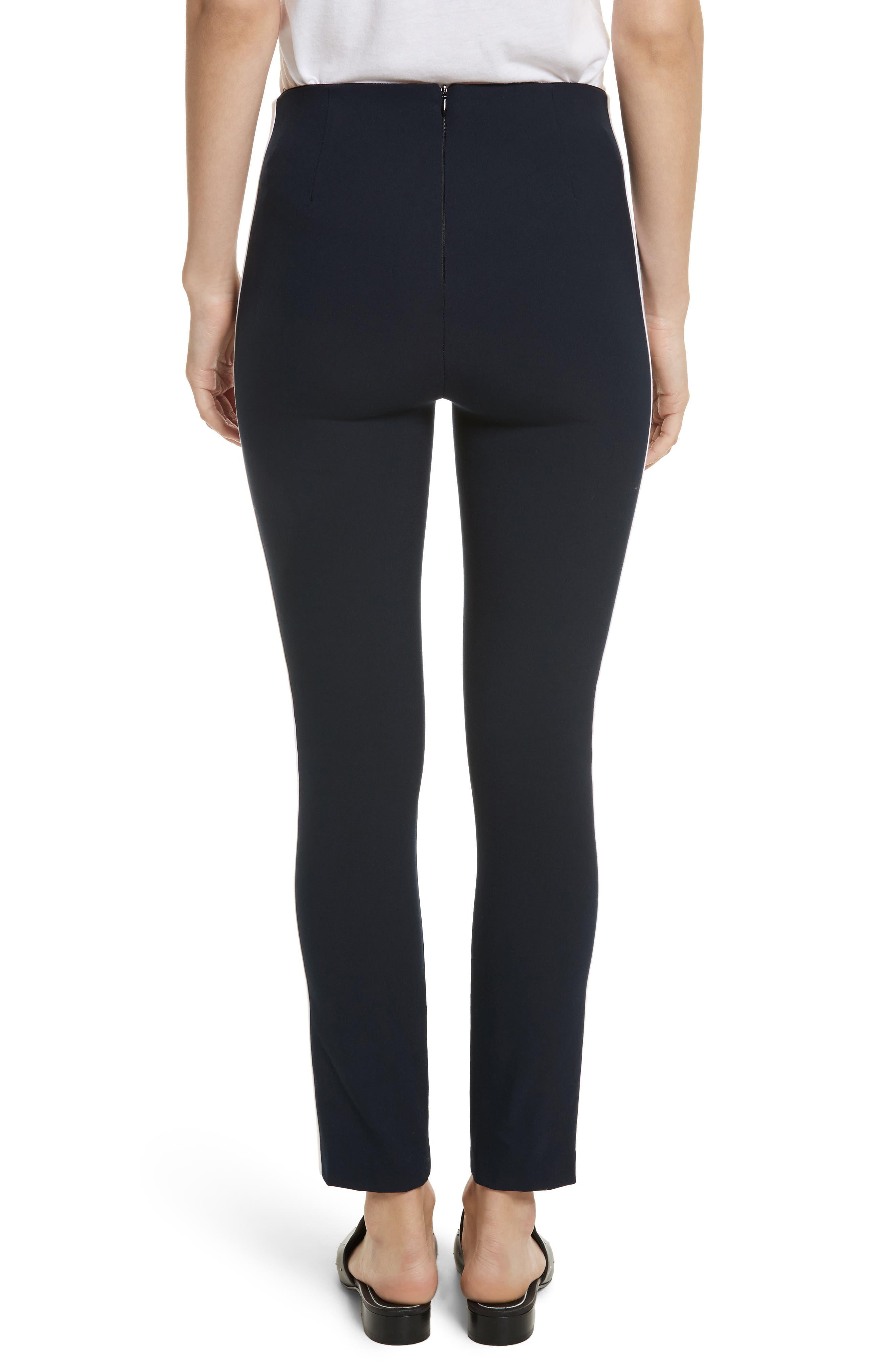 Alternate Image 2  - rag & bone Simone Side Stripe Slim Ankle Pants