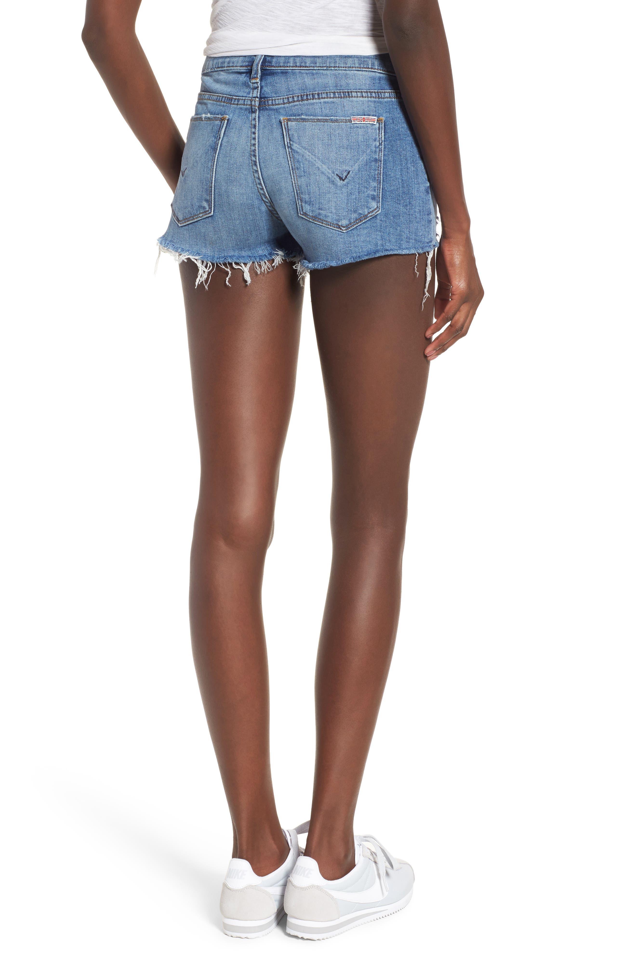 Alternate Image 3  - Hudson Jeans Kenzie Cutoff Denim Shorts