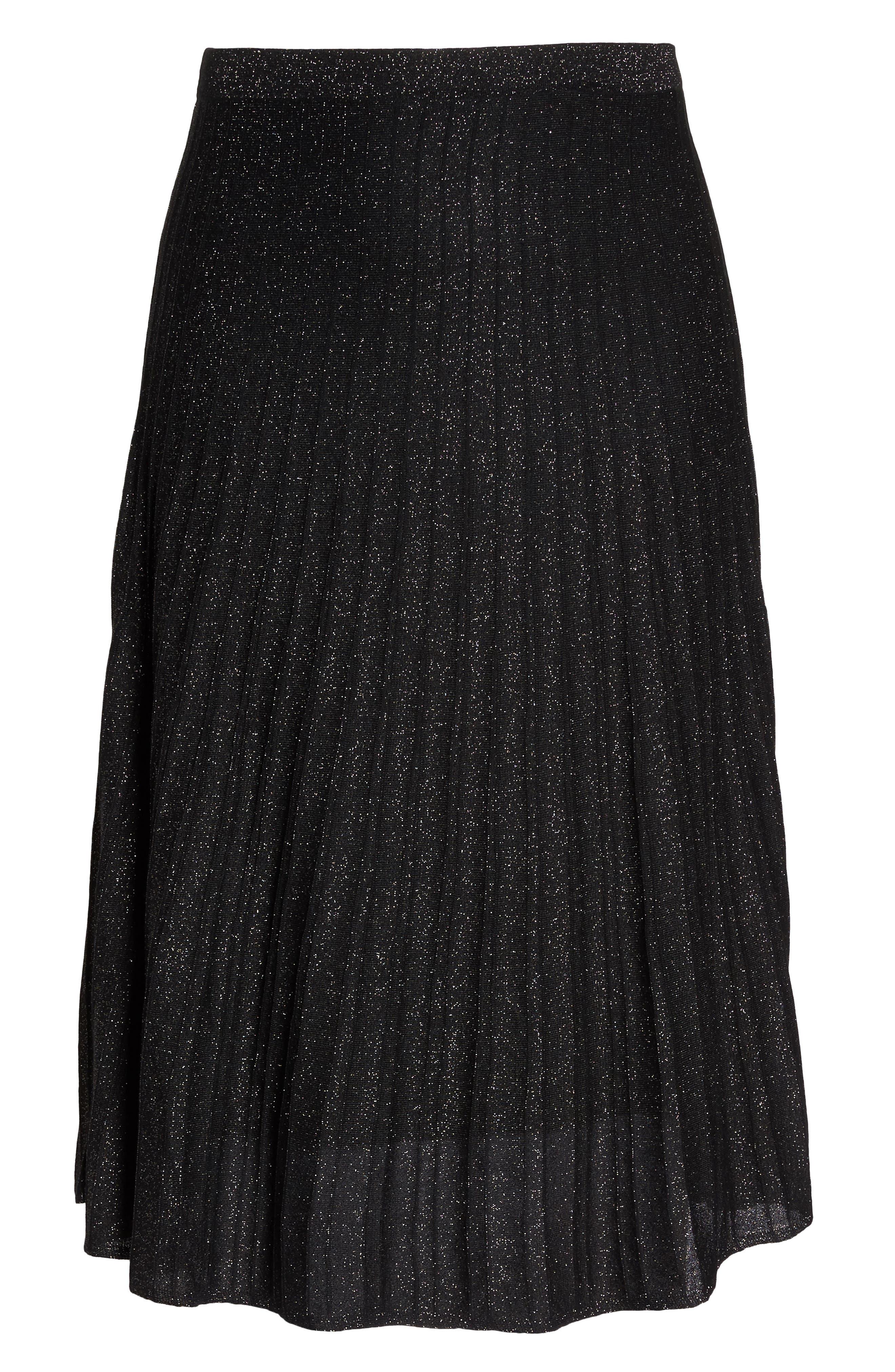 Luminary Skirt,                             Alternate thumbnail 6, color,                             Black Mix