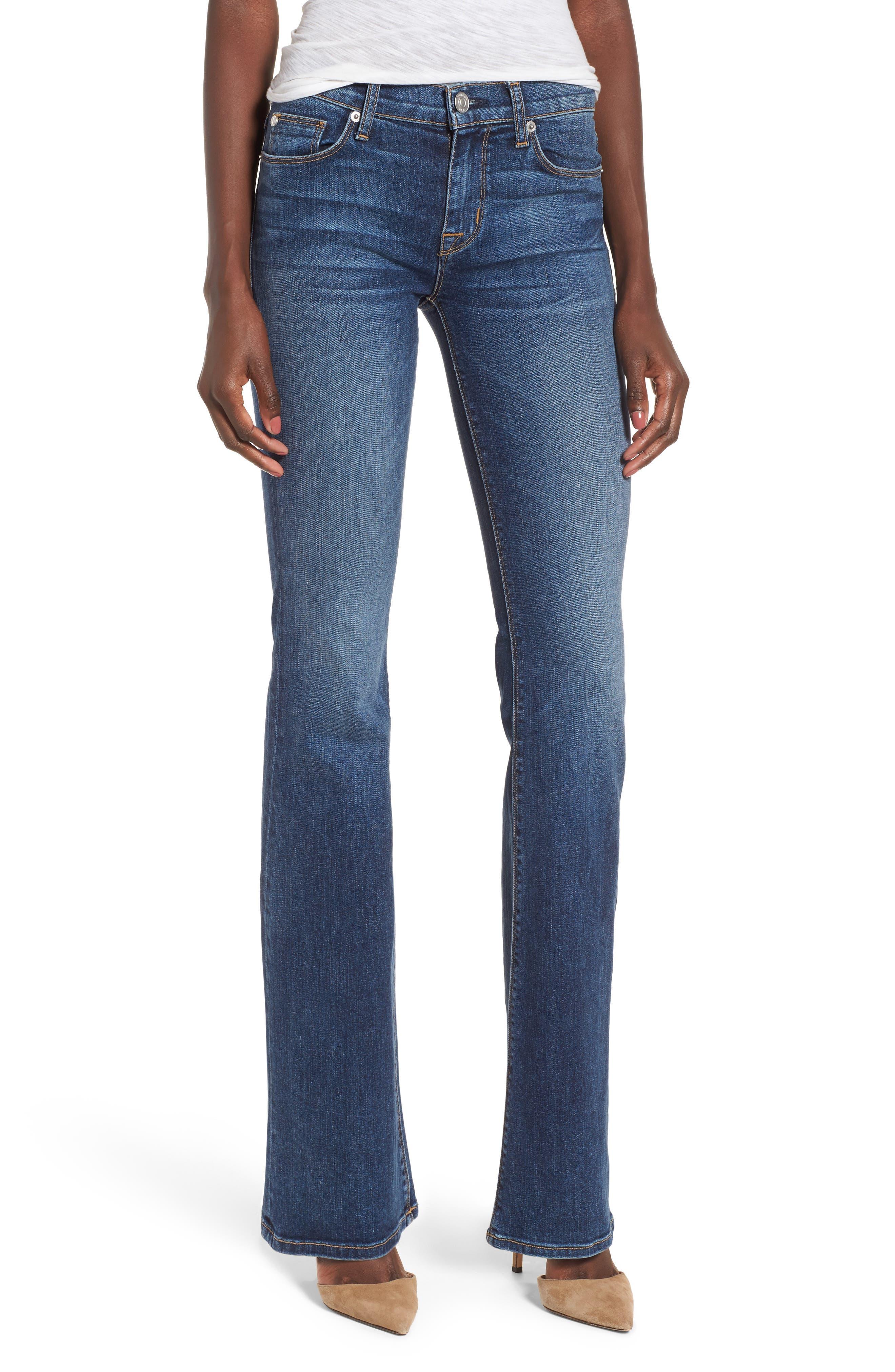 Alternate Image 1 Selected - Hudson Jeans Drew Bootcut Jeans (Unfamed)