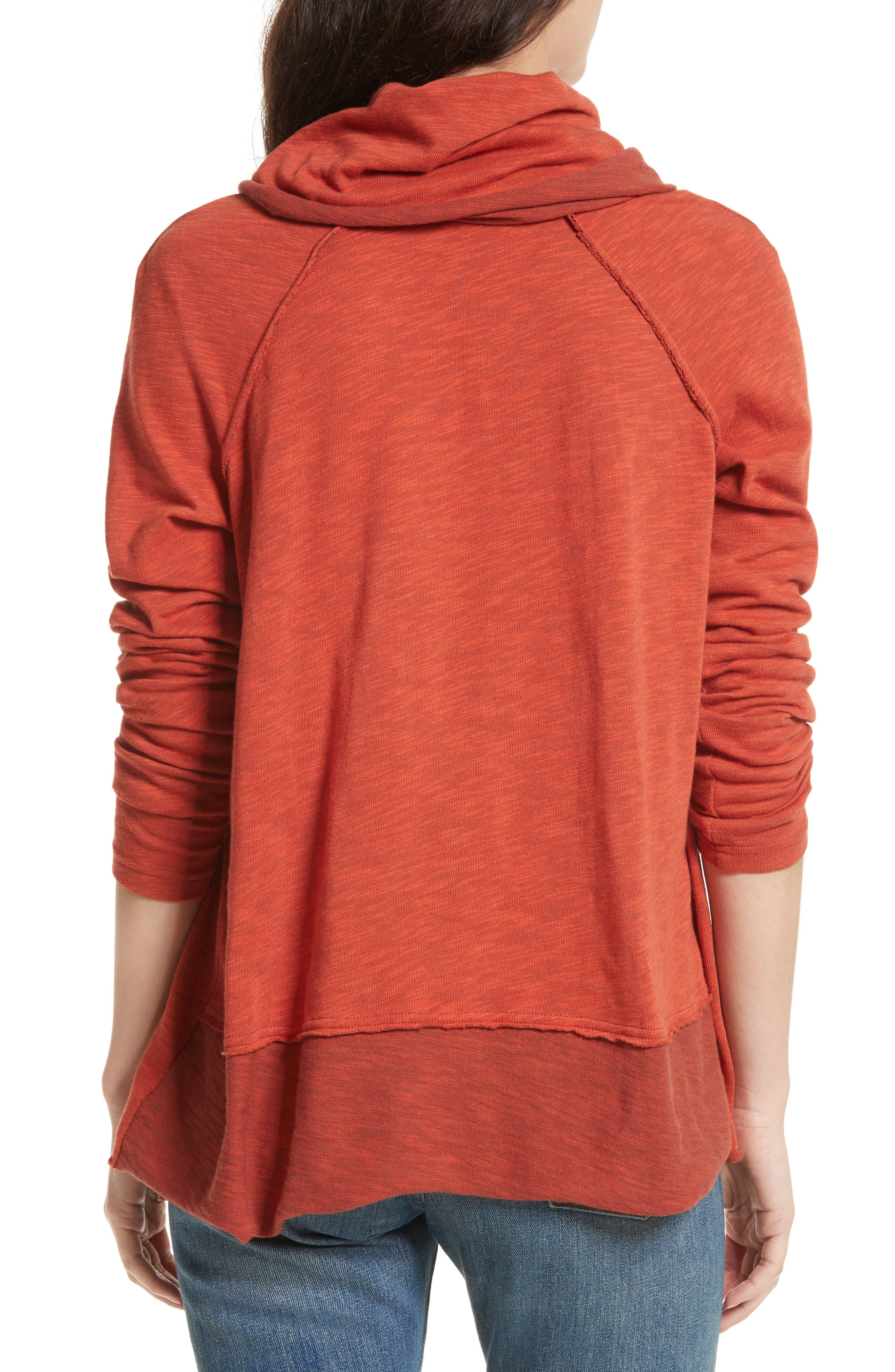 Alternate Image 2  - Free People 'Beach Cocoon' Cowl Neck Pullover
