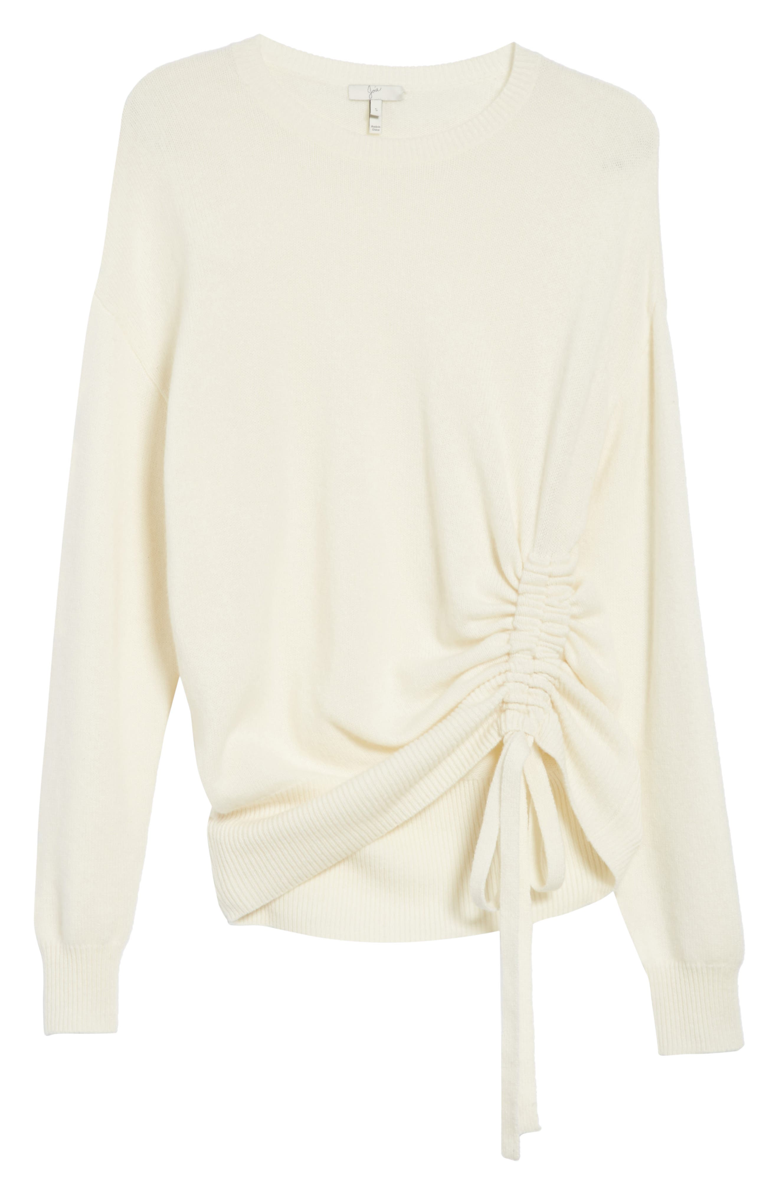 Iphis Wool & Cashmere Sweater,                             Alternate thumbnail 6, color,                             Porcelain