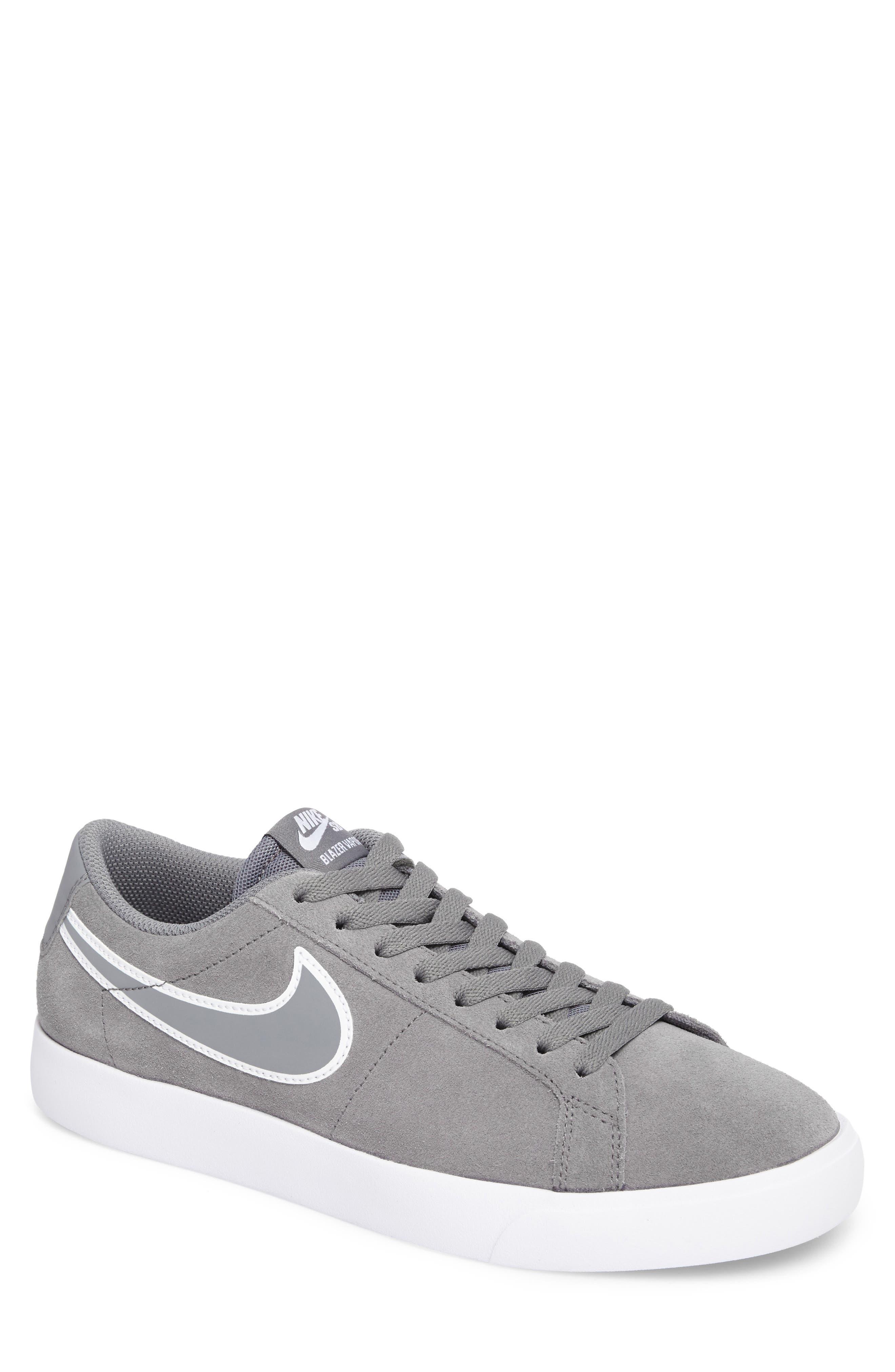 SB Blazer Vapor Skateboarding Sneaker,                         Main,                         color, Cool Grey/Cool Grey/White