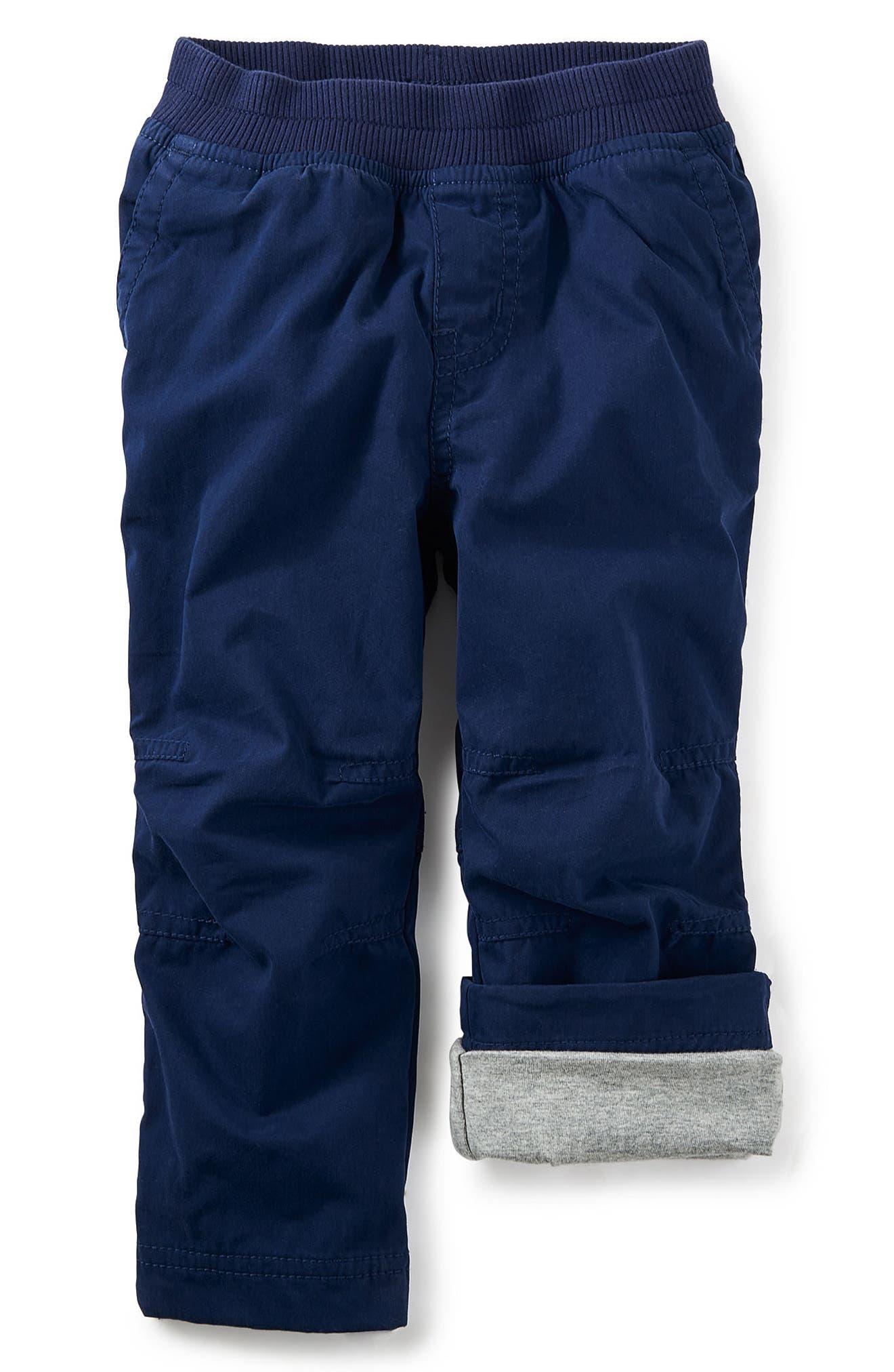 Canvas Pants,                         Main,                         color, Beluga