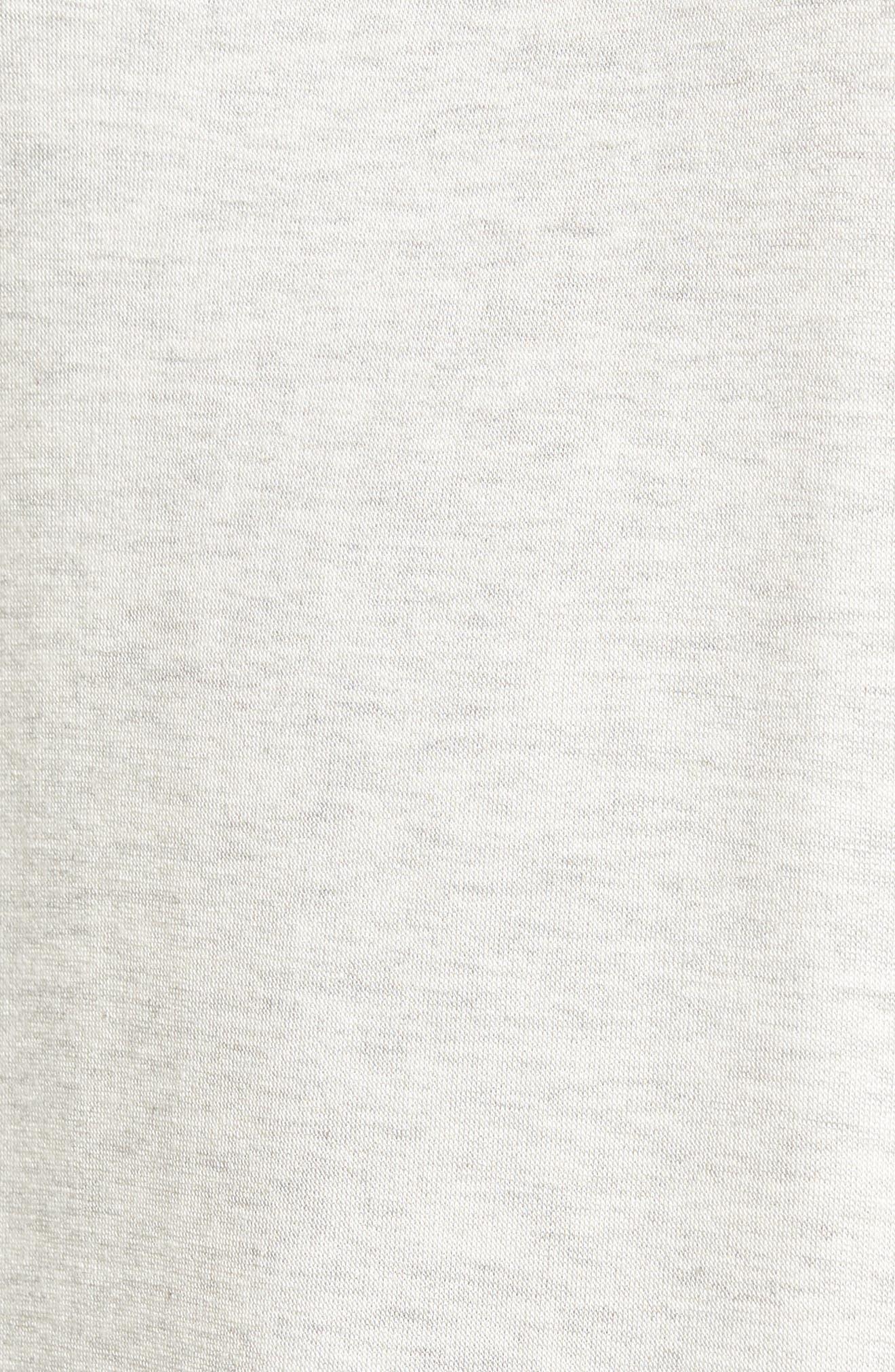 Snake Print Sweatshirt,                             Alternate thumbnail 5, color,                             Light Grey