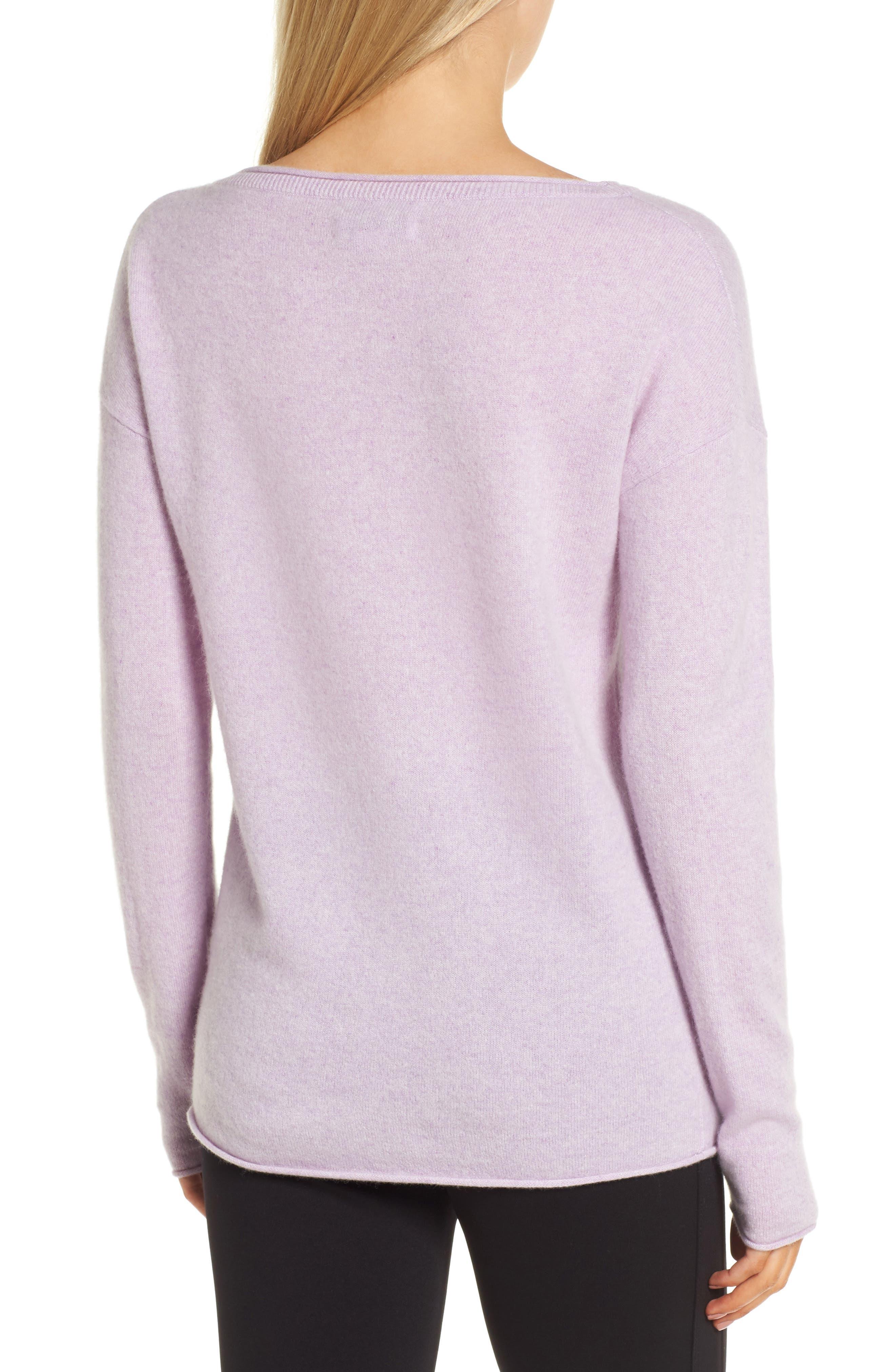 Alternate Image 2  - Nordstrom Signature Boiled Cashmere Sweater