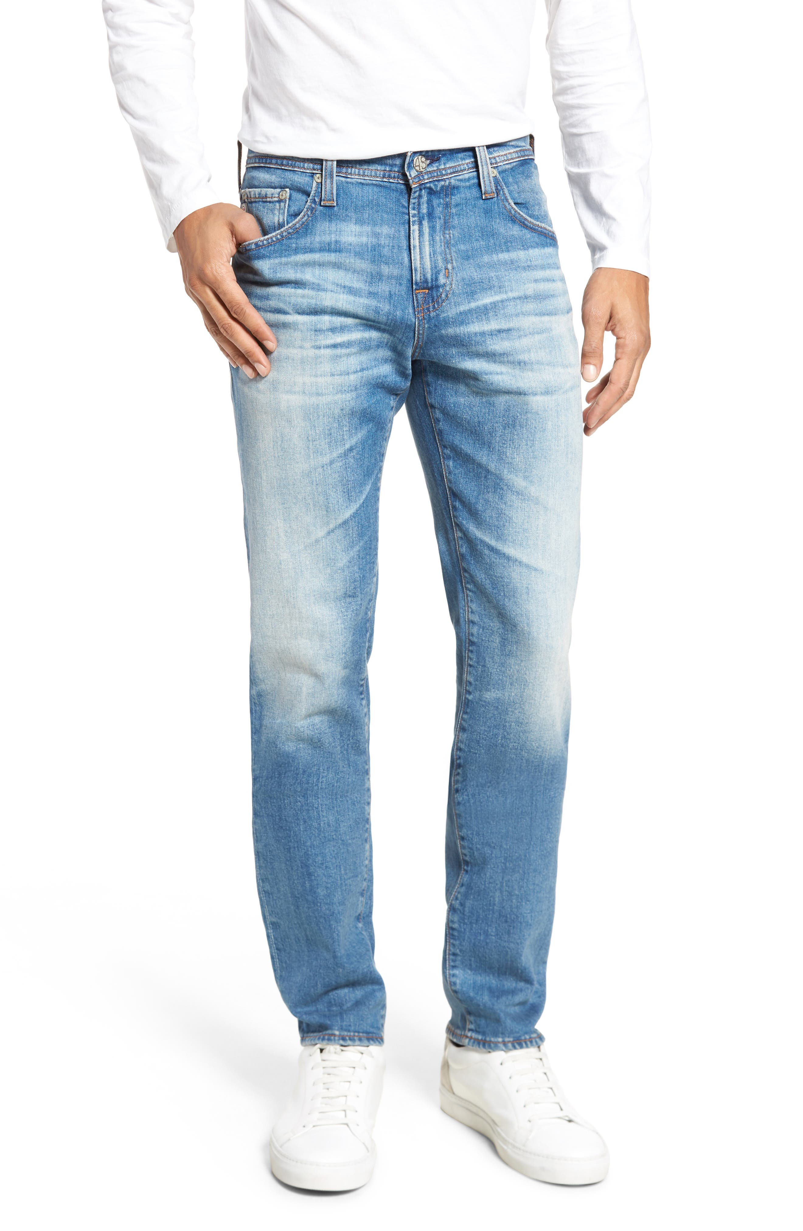 Tellis Modern Slim Fit Jeans,                             Main thumbnail 1, color,                             19 Years Rocket