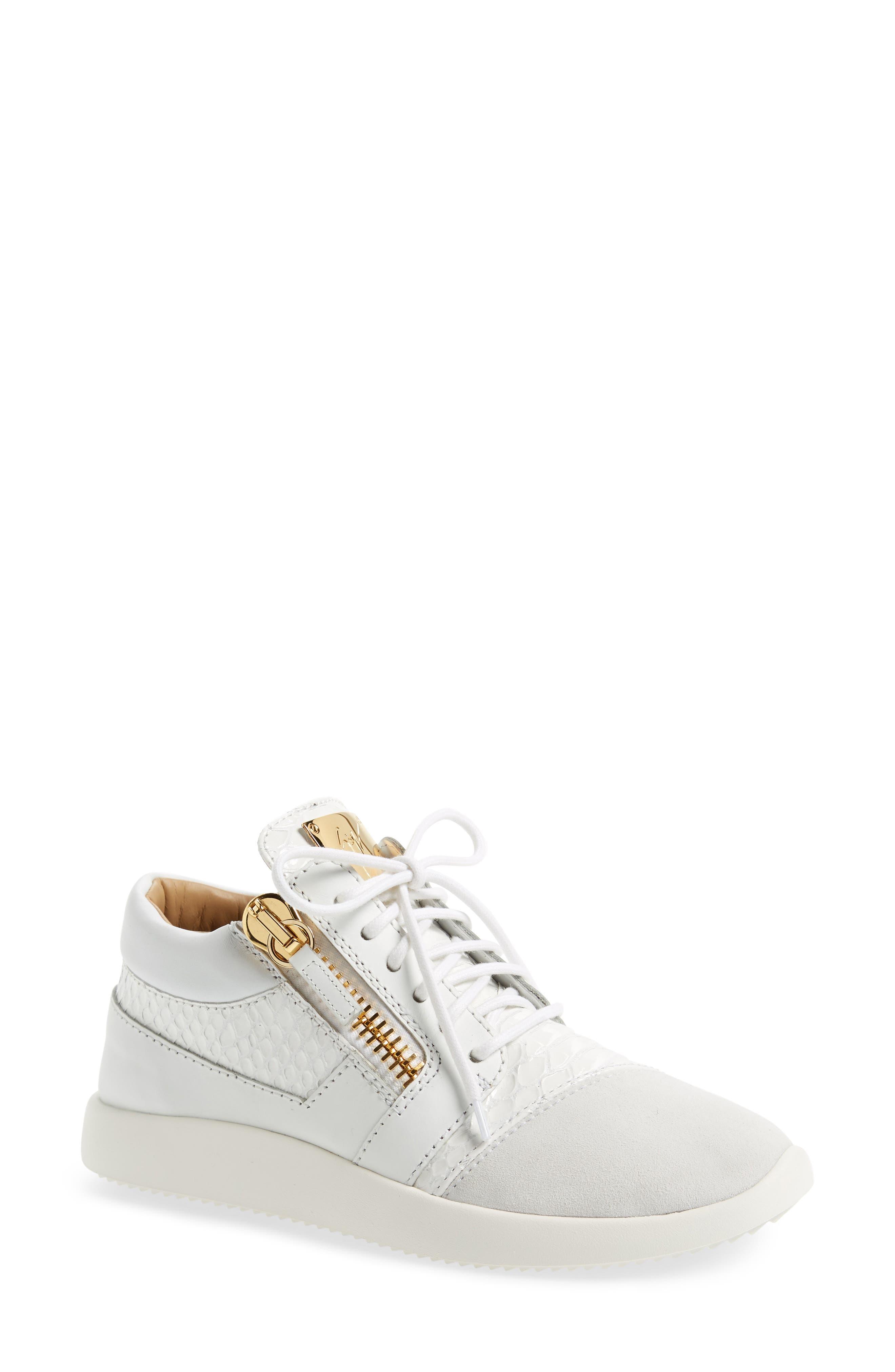 Alternate Image 1 Selected - Giuseppe Zanotti Low Top Sneaker (Women)
