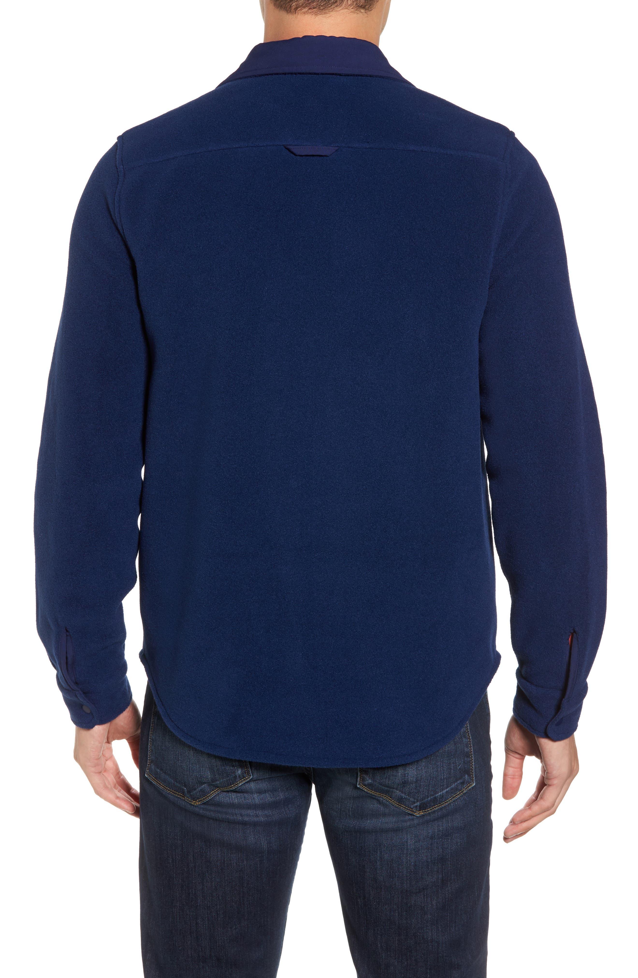 Alternate Image 2  - vineyard vines Snap Front Fleece Jacket