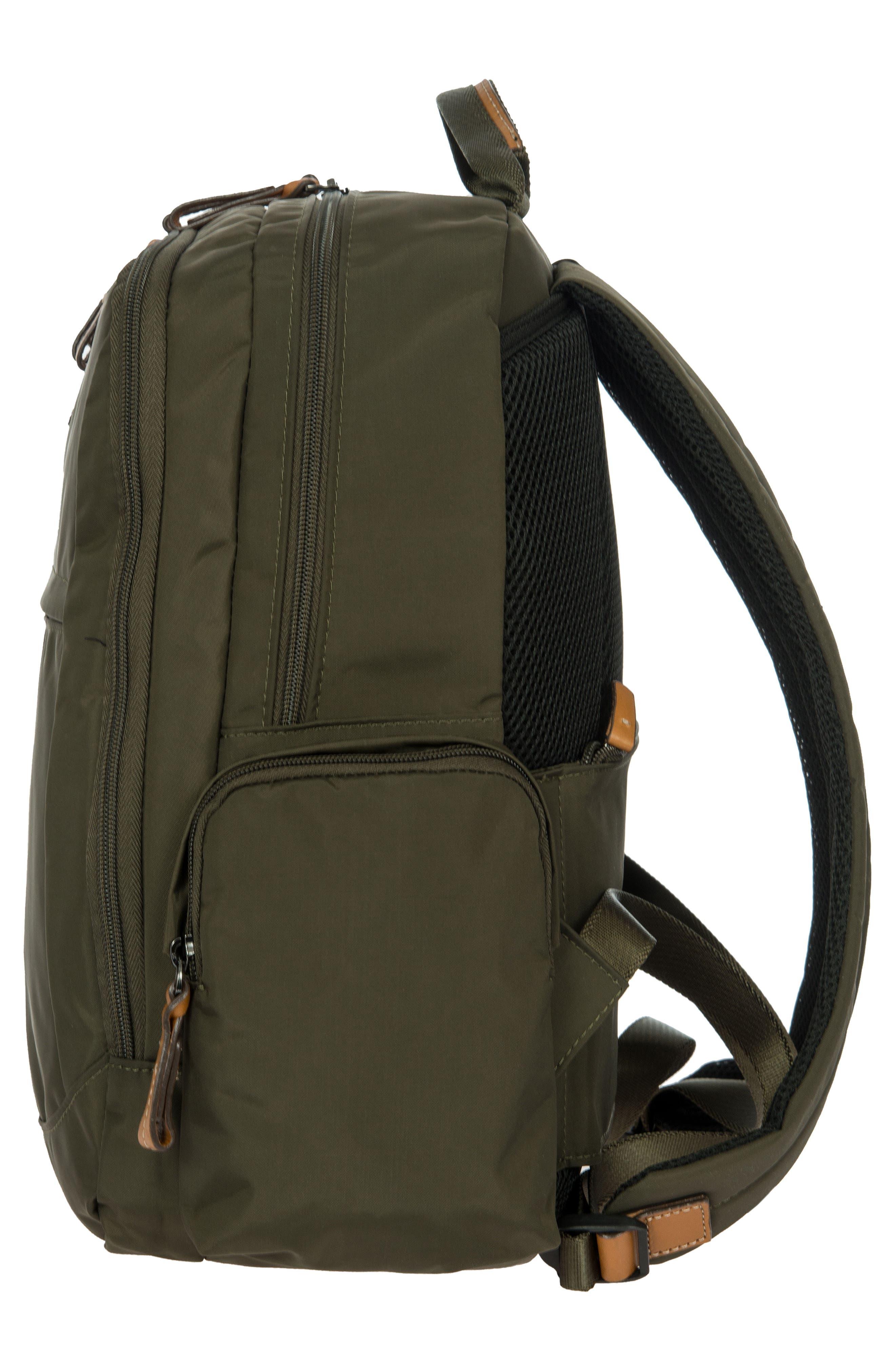 X-Travel Nomad Backpack,                             Alternate thumbnail 4, color,                             Olive