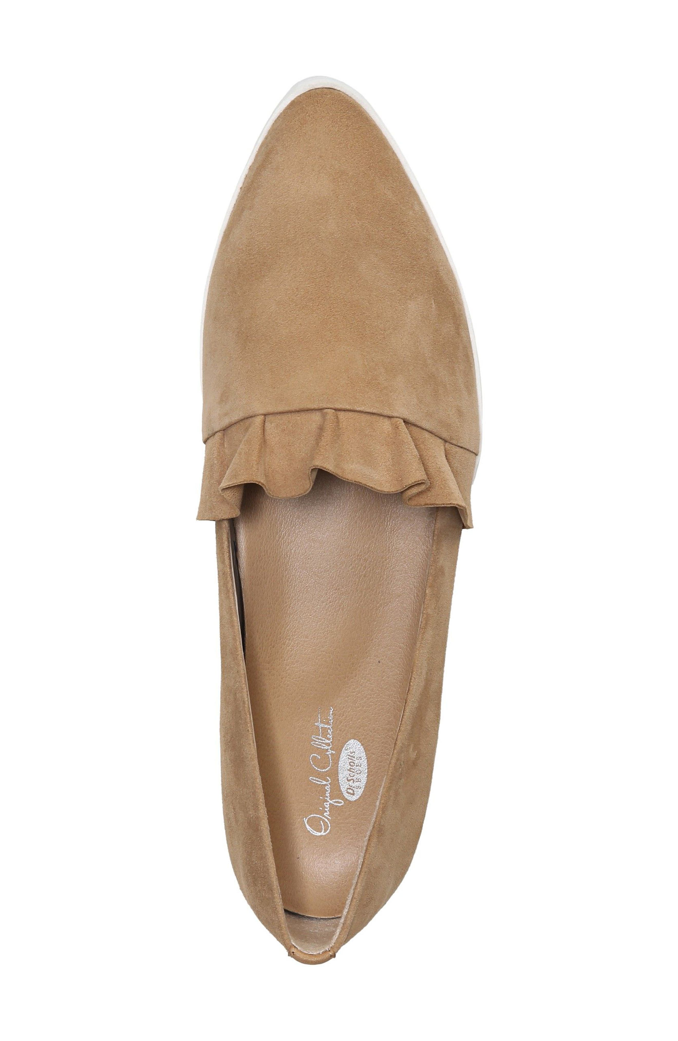 Vienna Slip-On Sneaker,                             Alternate thumbnail 5, color,                             Nude Suede