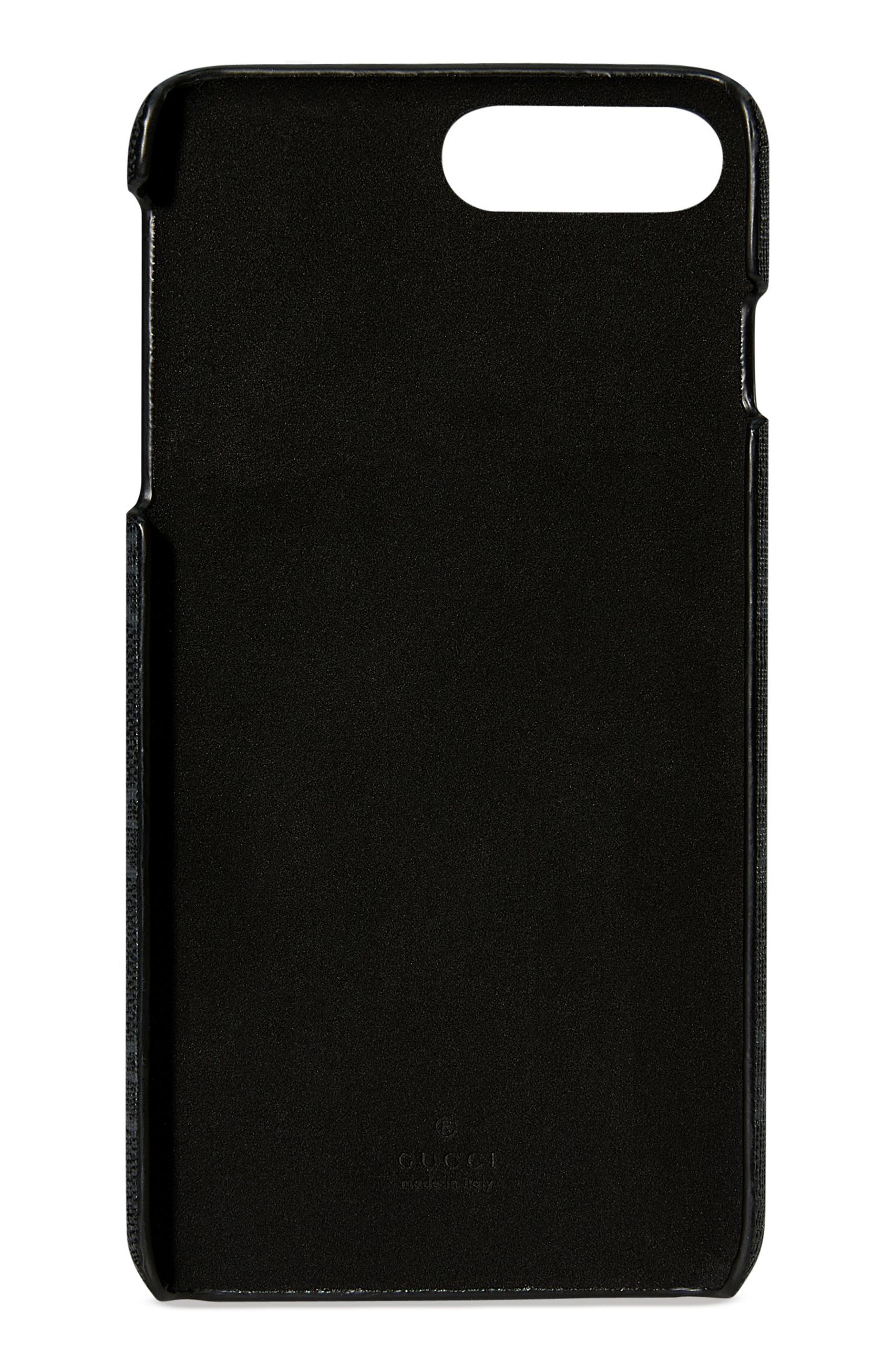 Travel iPhone 7 Plus Case,                             Alternate thumbnail 2, color,                             Black