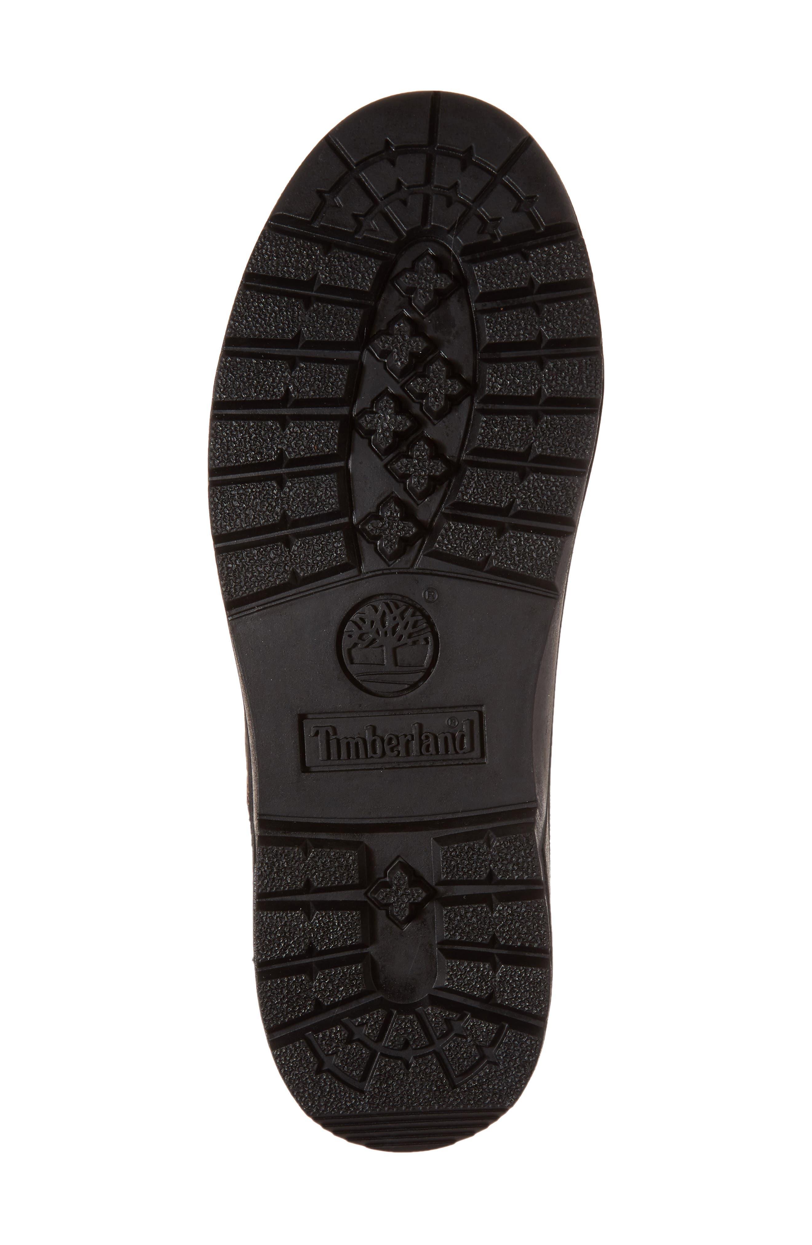 Field Waterproof Winter Boot,                             Alternate thumbnail 6, color,                             Hazel Highway Leather