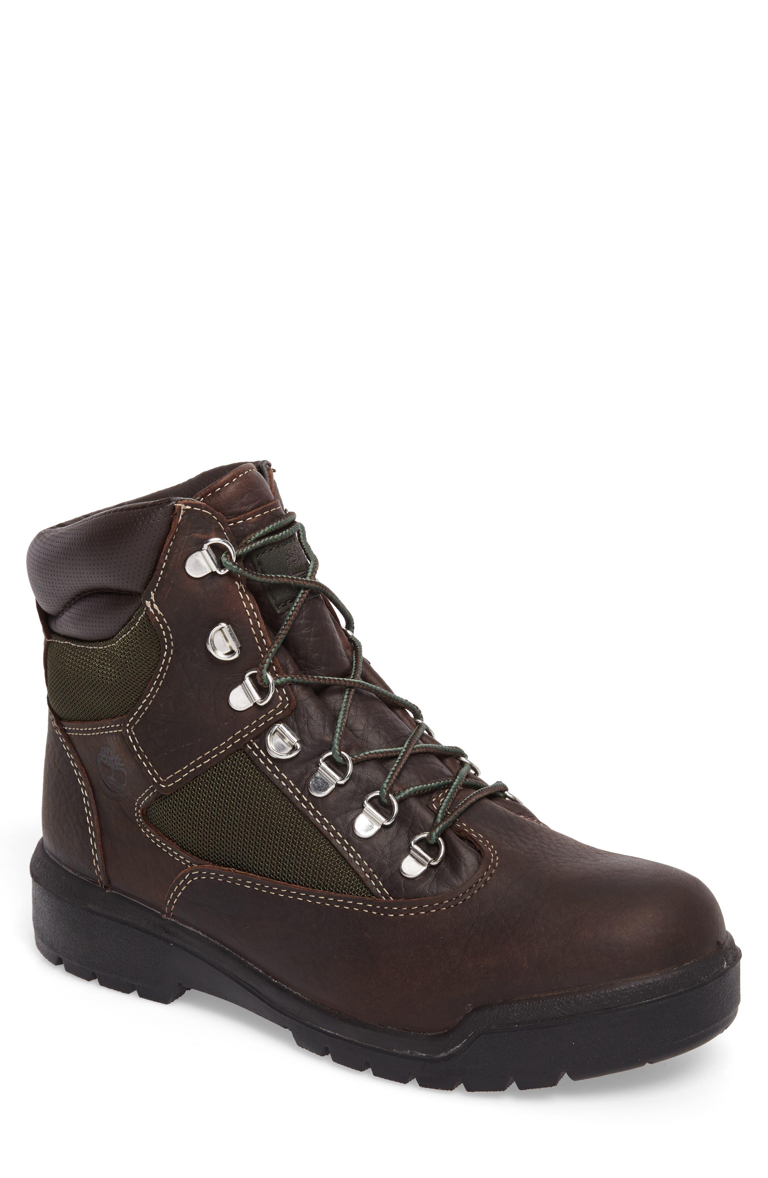 Field Waterproof Winter Boot,                         Main,                         color, Hazel Highway Leather