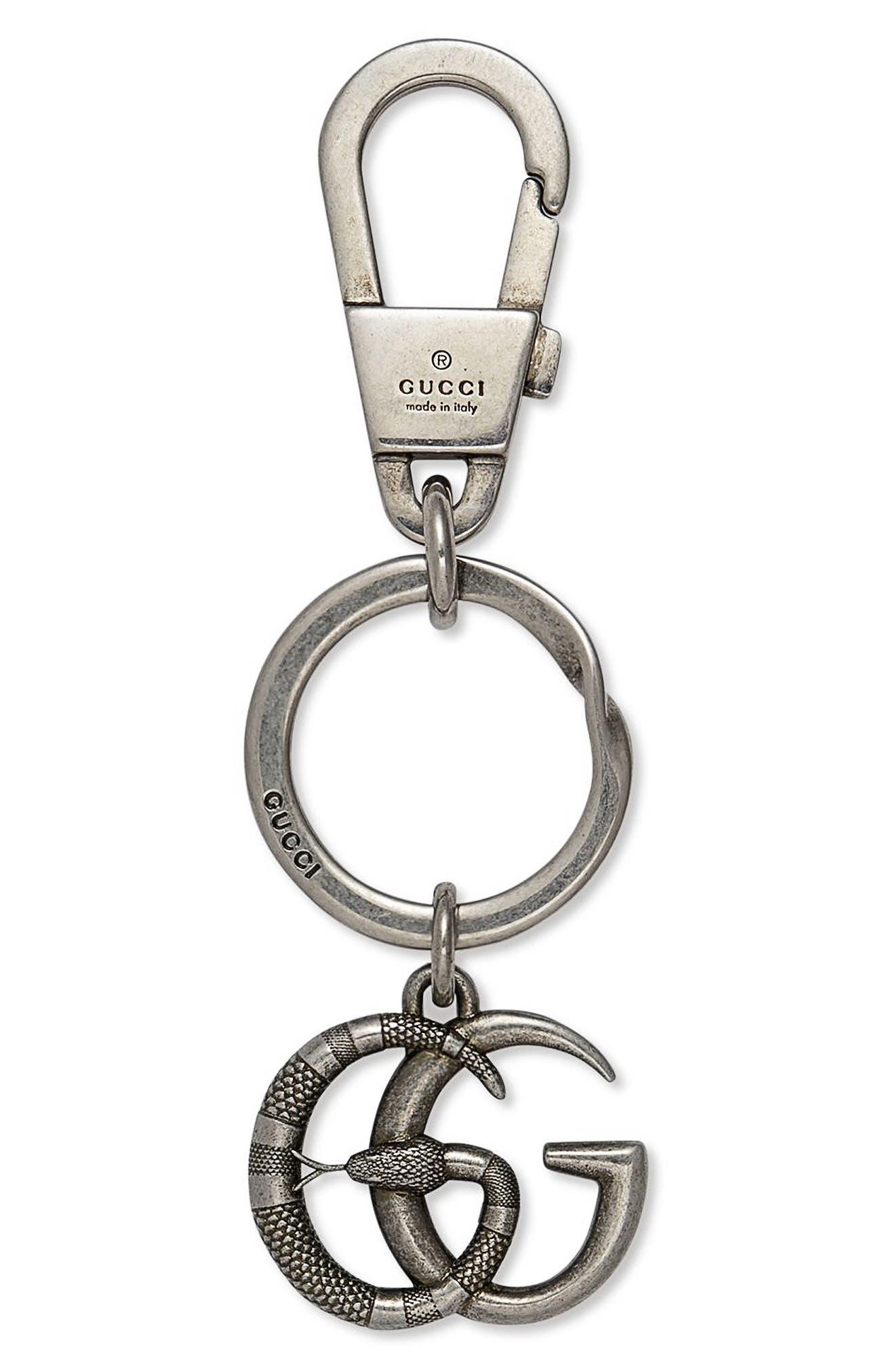 Main Image - Gucci GG Brass Keychain