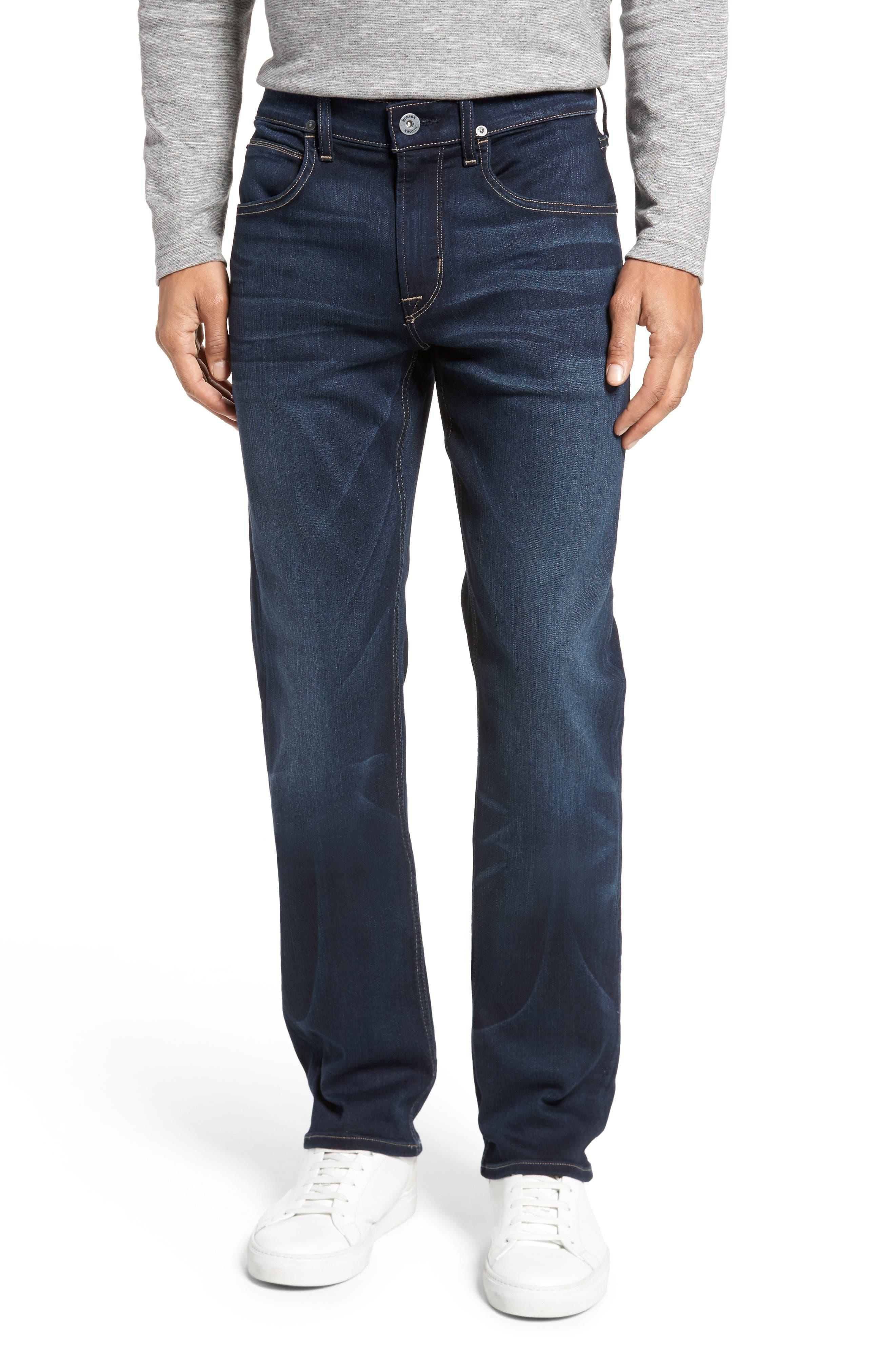 Main Image - Hudson Jeans Byron Slim Straight Fit Jeans (Newburyport)