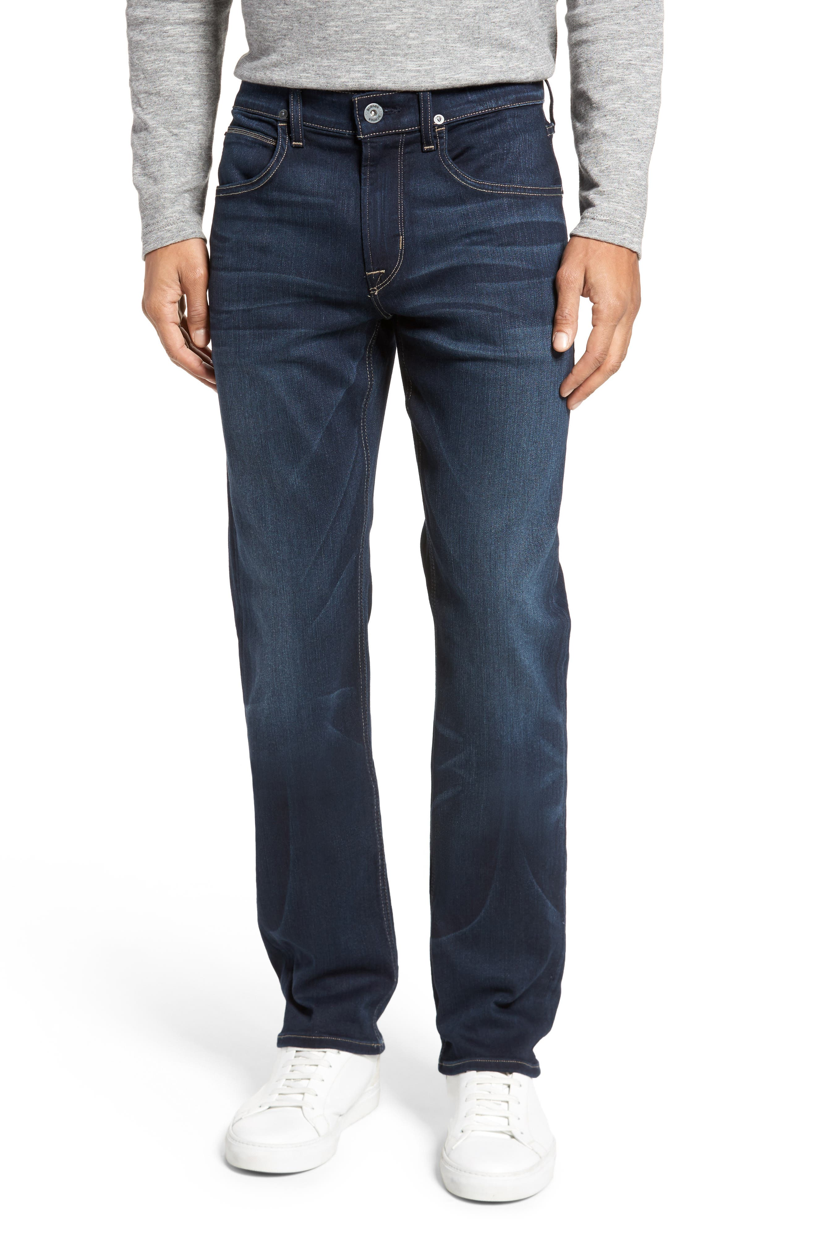 Hudson Jeans Byron Slim Straight Fit Jeans (Newburyport)