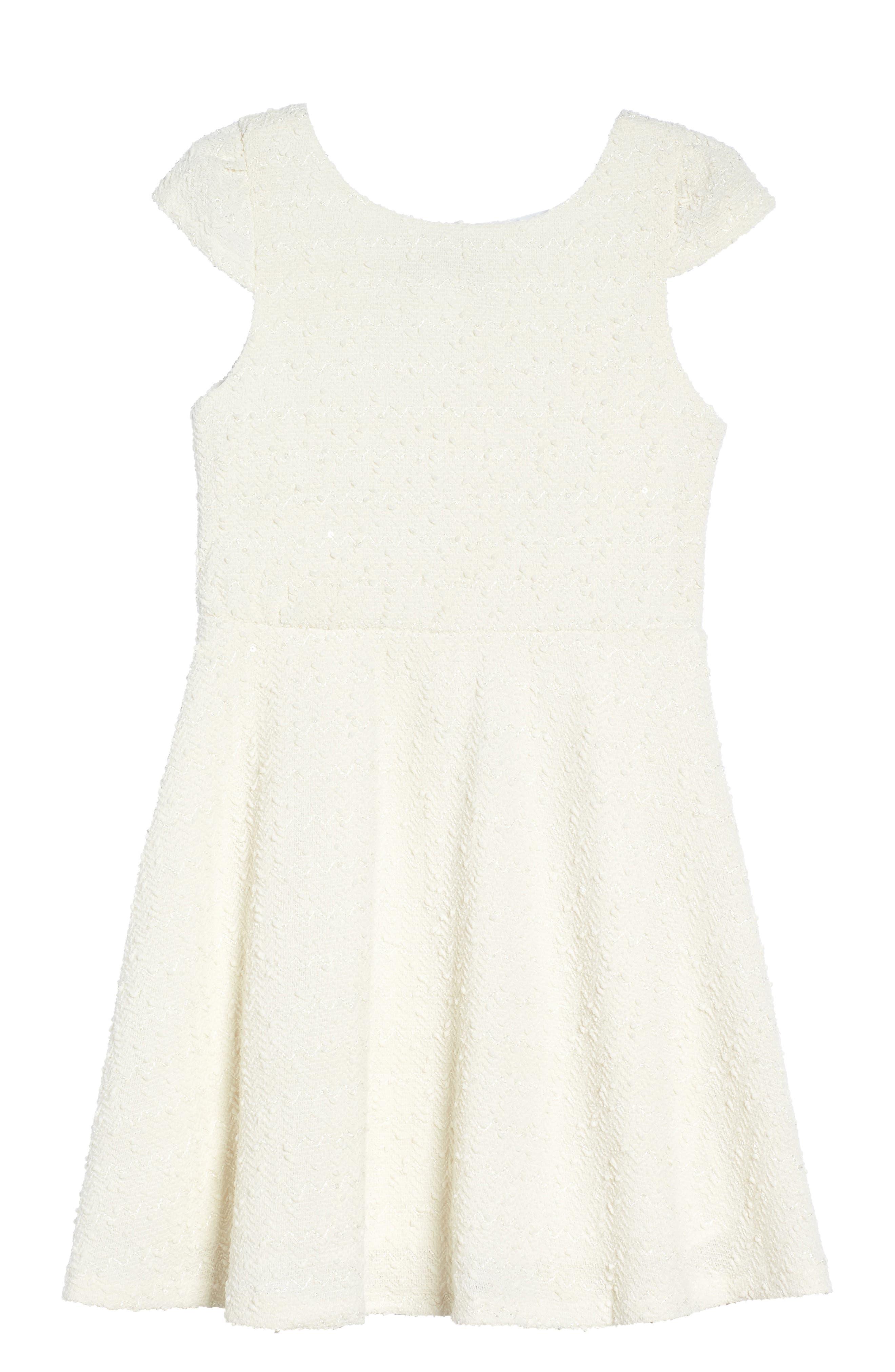 Alternate Image 2  - Dorissa Carly Cap Sleeve Dress (Big Girls)