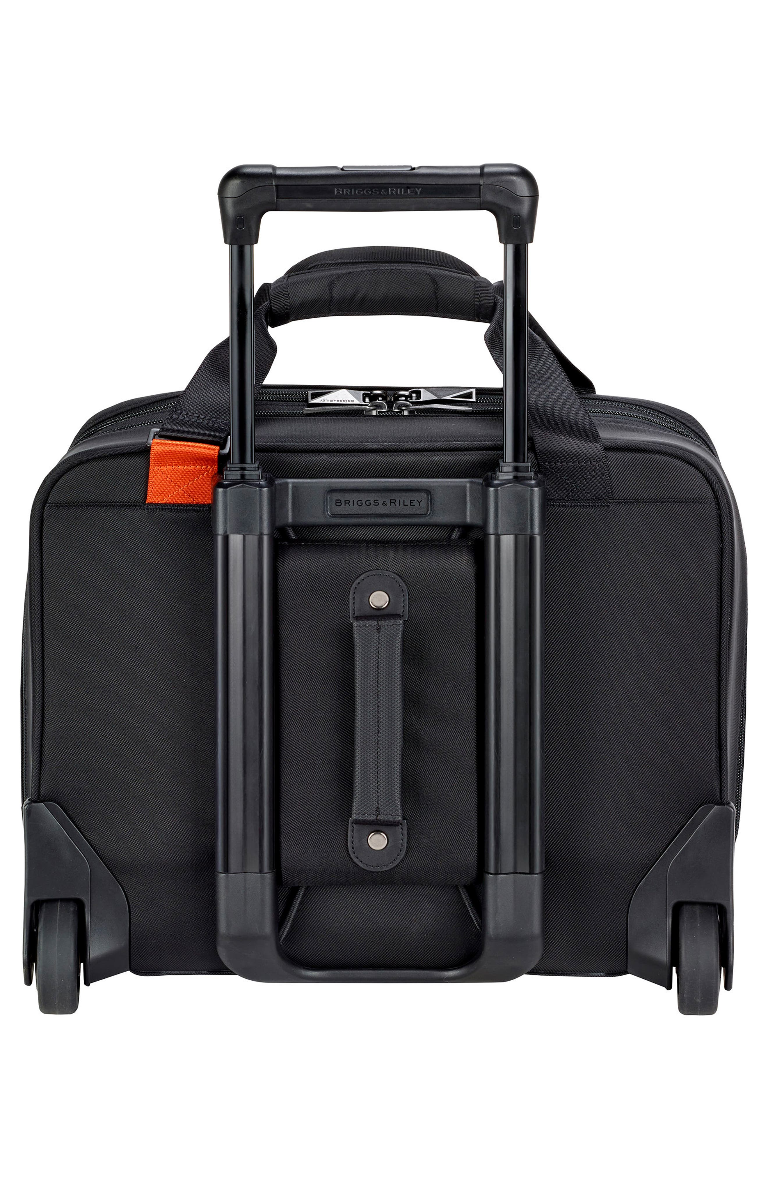 'Verb - Propel' Rolling Briefcase,                             Alternate thumbnail 3, color,                             Black
