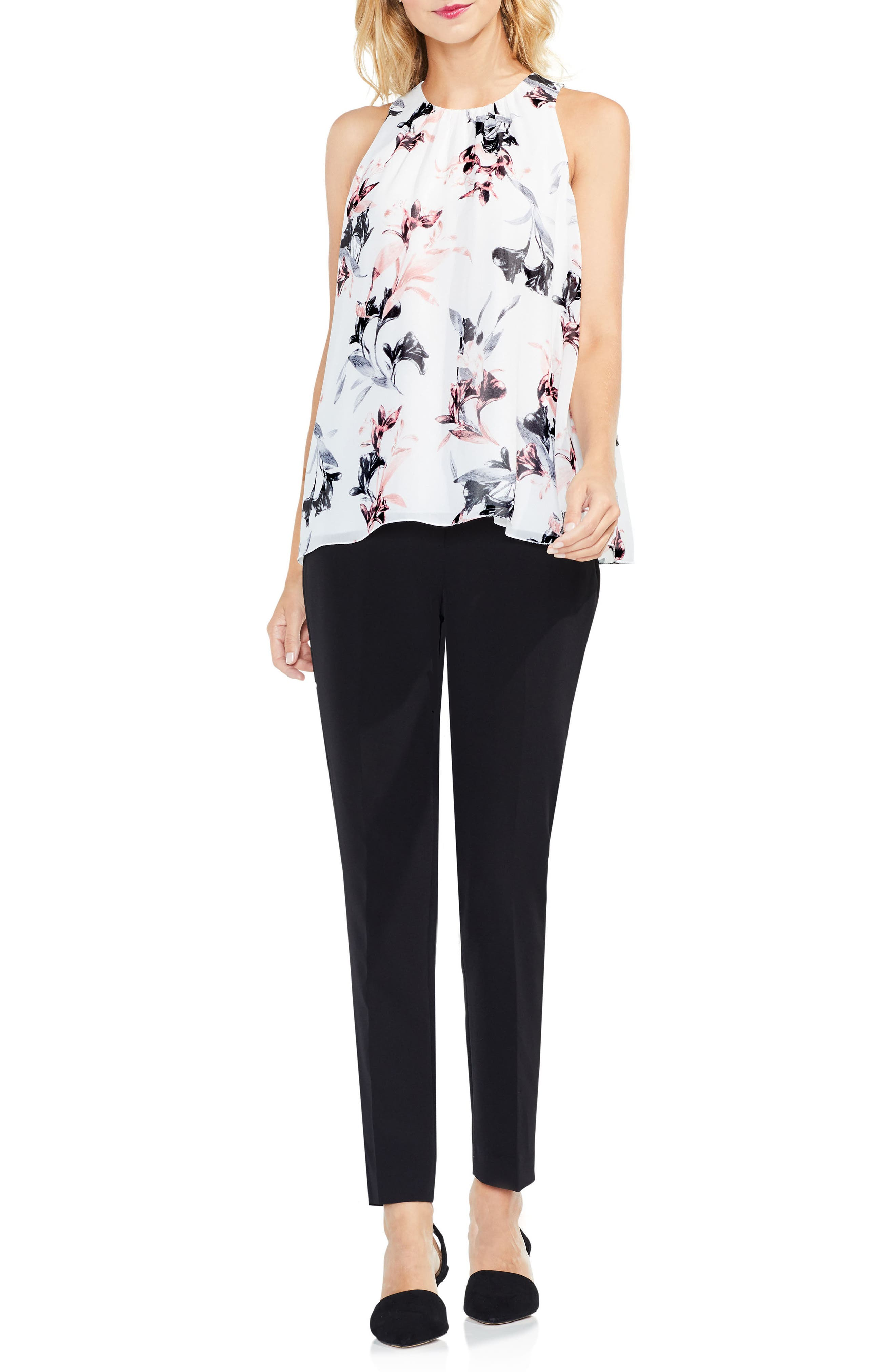 Alternate Image 4  - Vince Camuto Lily Melody Sleeveless Blouse