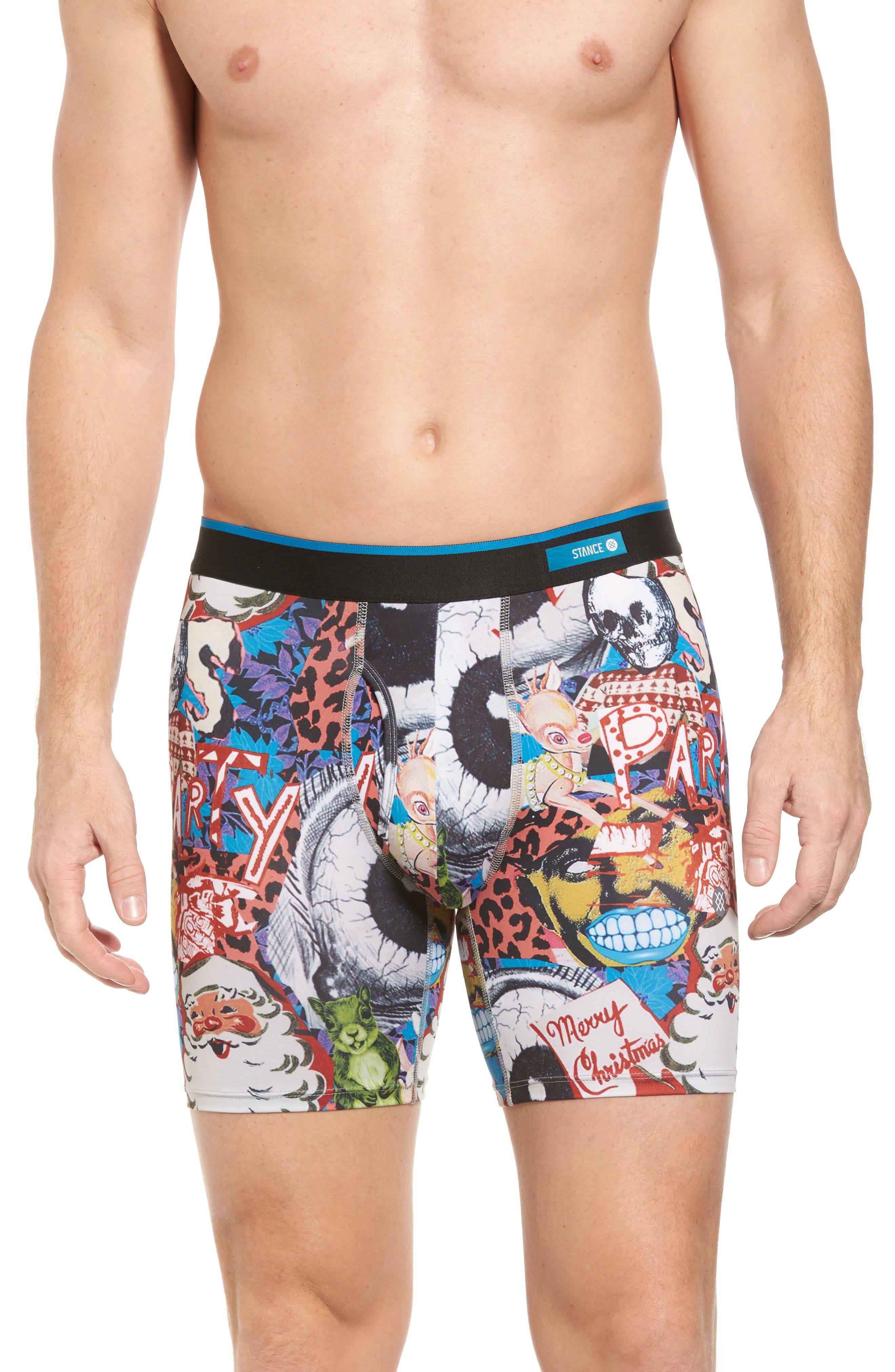 Alternate Image 1 Selected - Stance Cycle Zombies Xmas Boxer Briefs