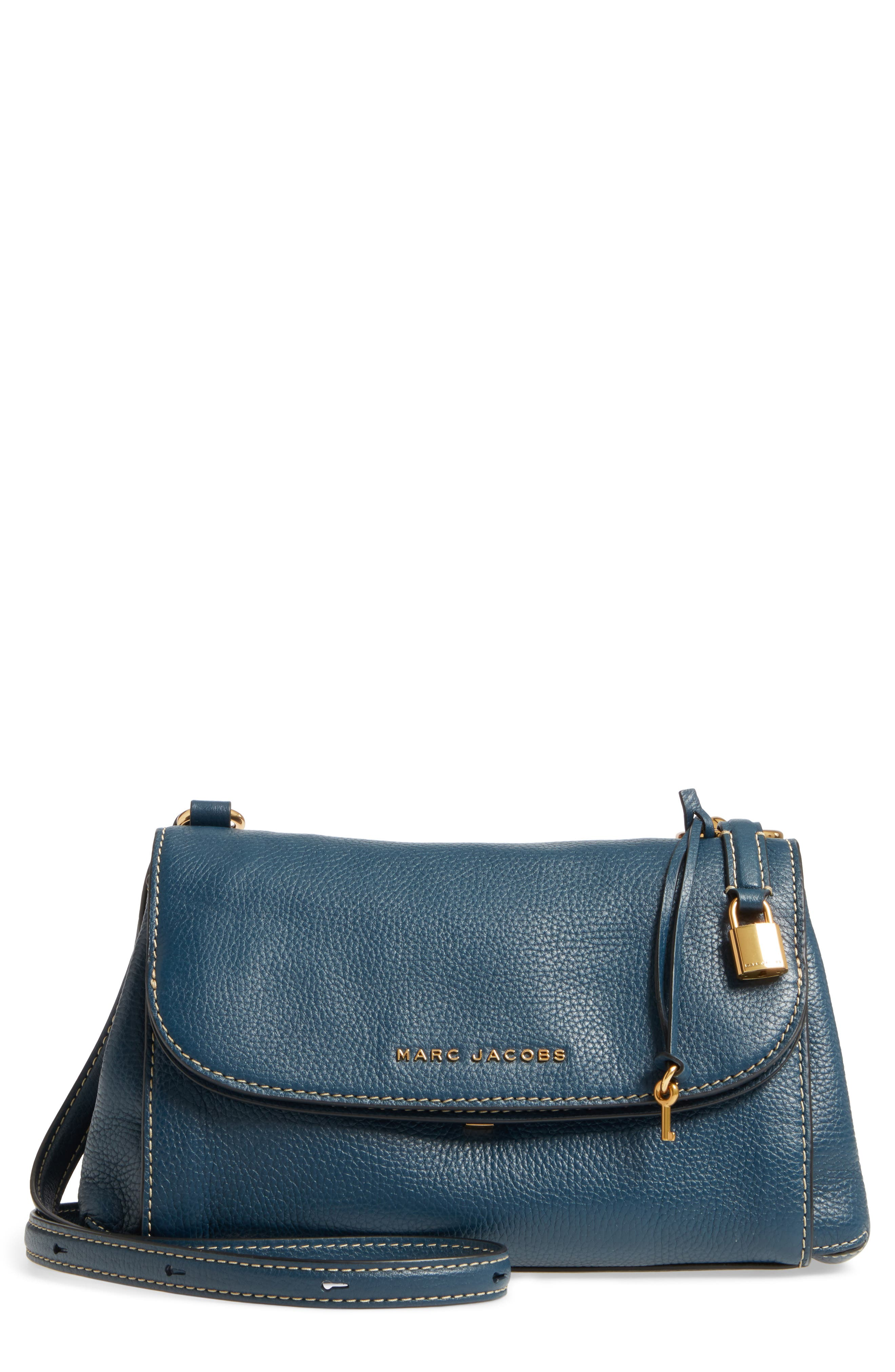 MARC JACOBS The Grind Boho Leather Shoulder Bag