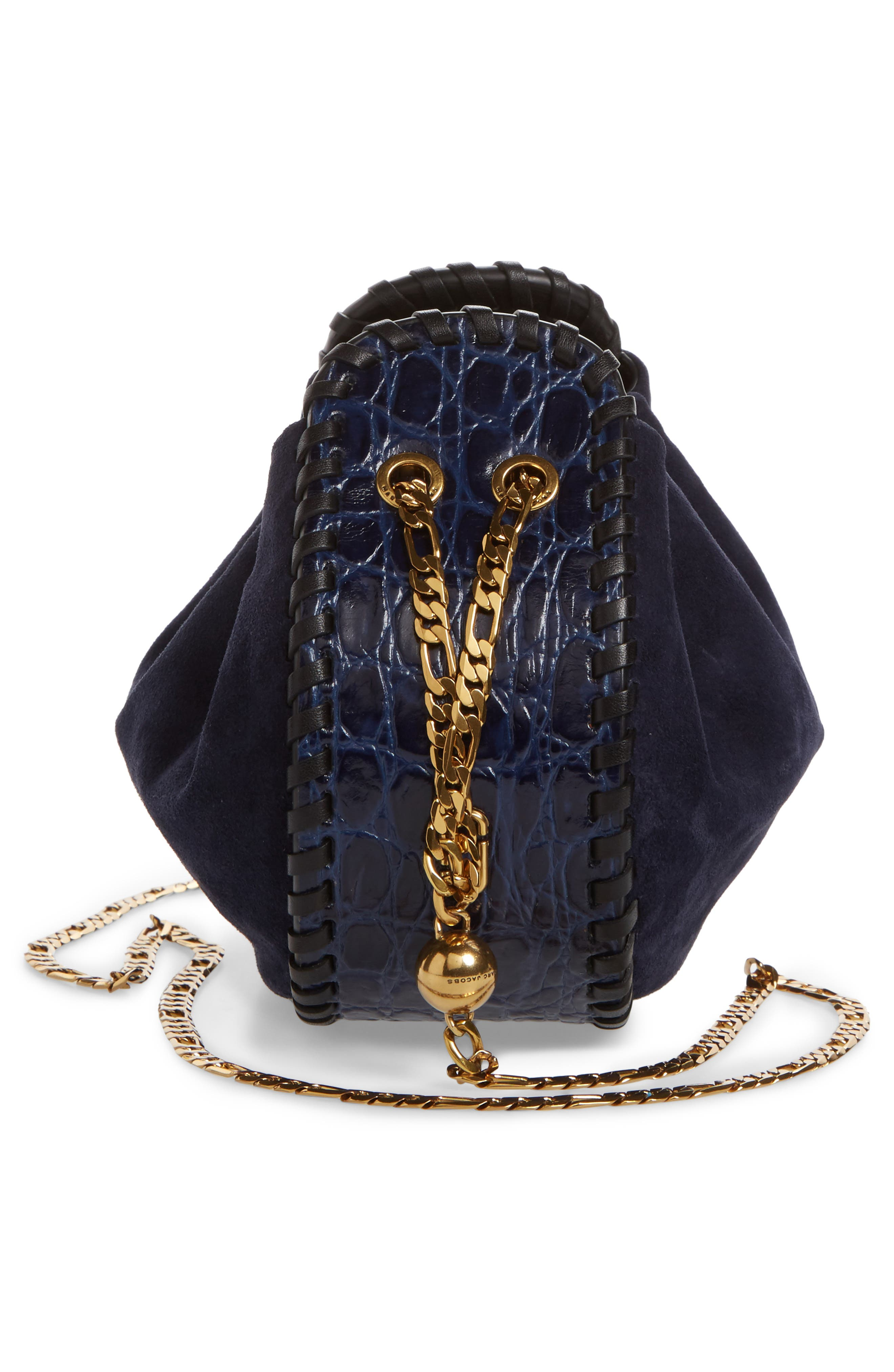 Alternate Image 4  - MARC JACOBS Sway Party Suede Crossbody Bag