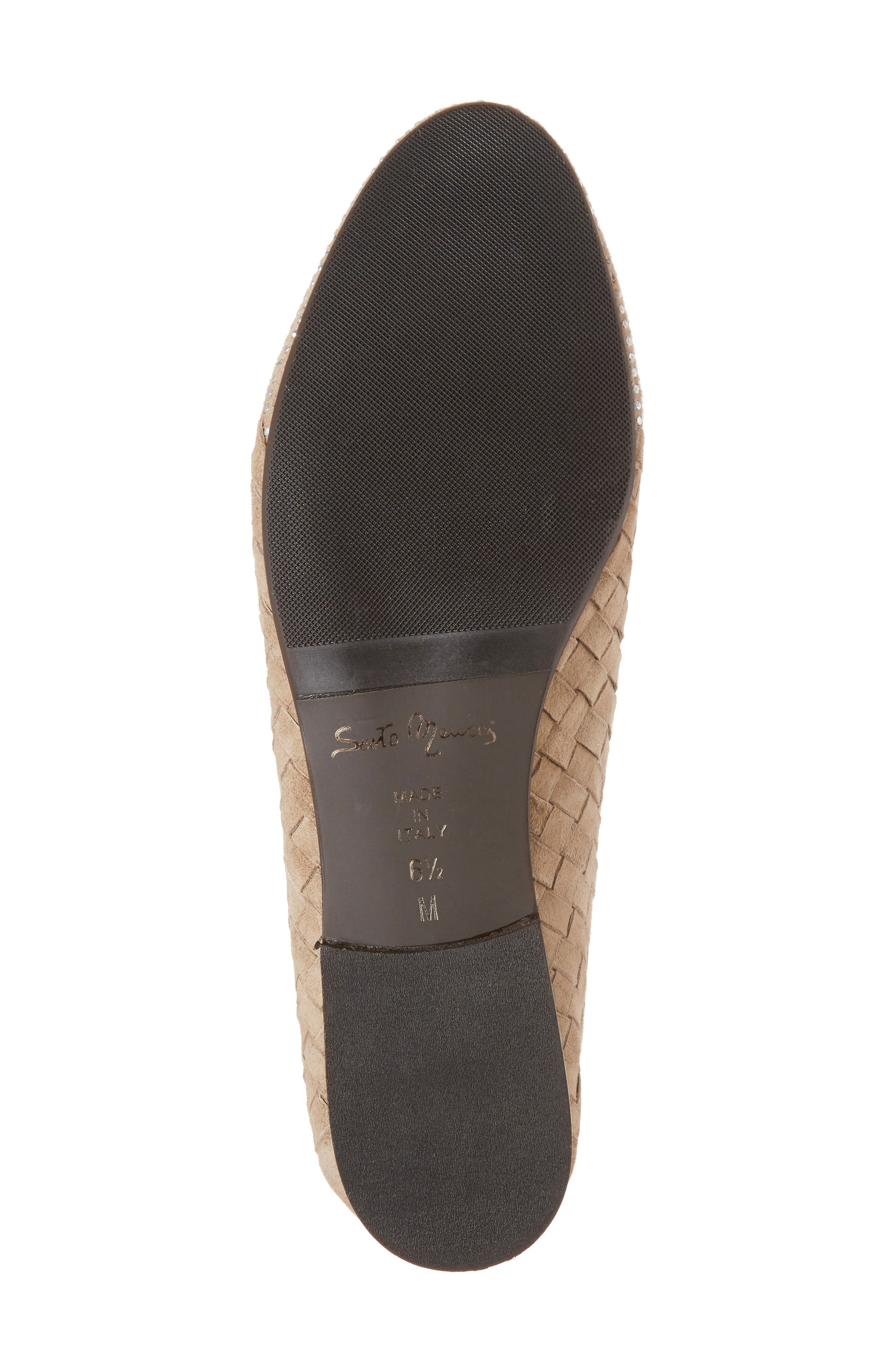 Nicia Flat,                             Alternate thumbnail 6, color,                             Light Taupe Suede