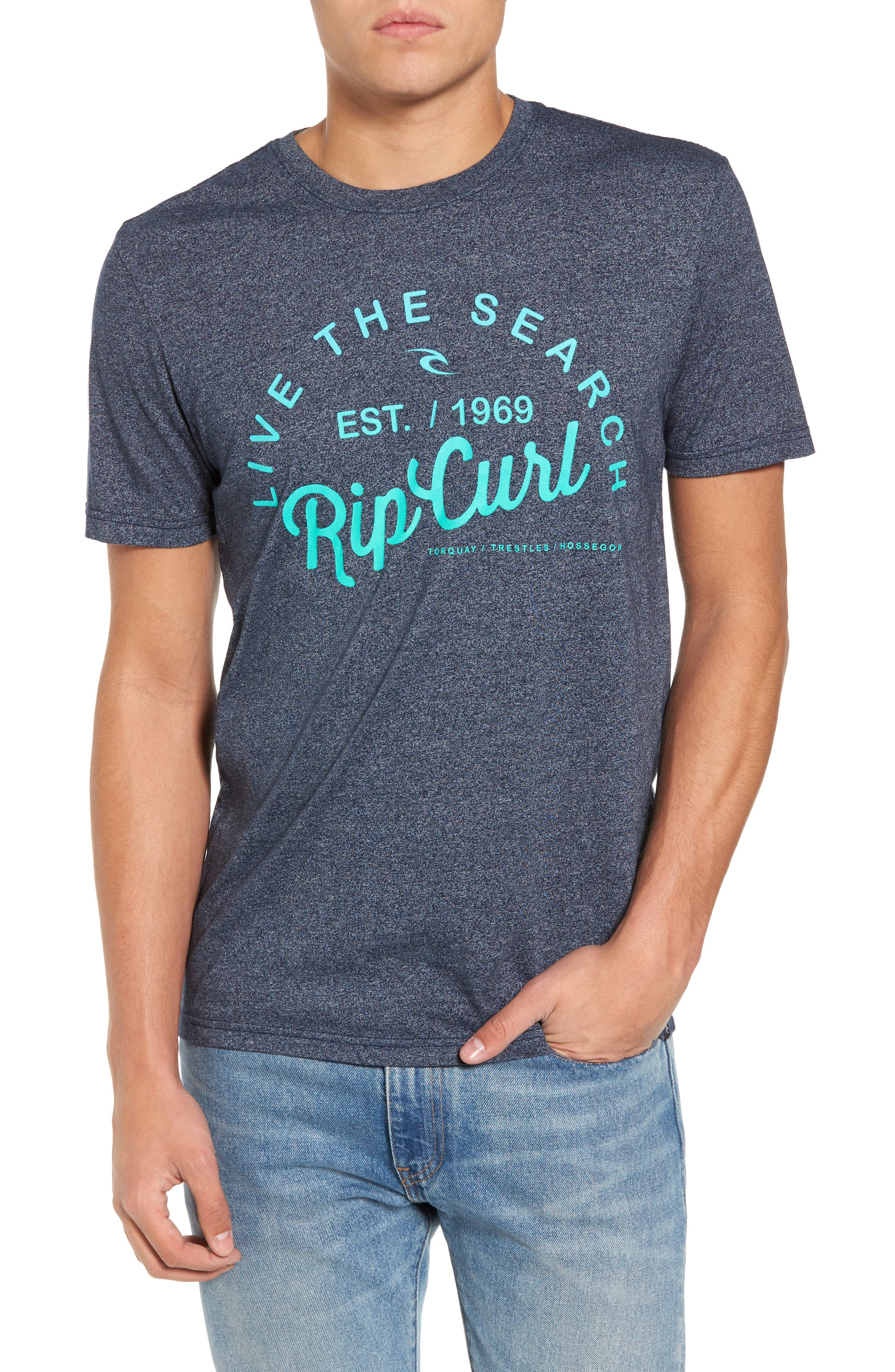 Alternate Image 1 Selected - Rip Curl Shred City Short Sleeve T-Shirt
