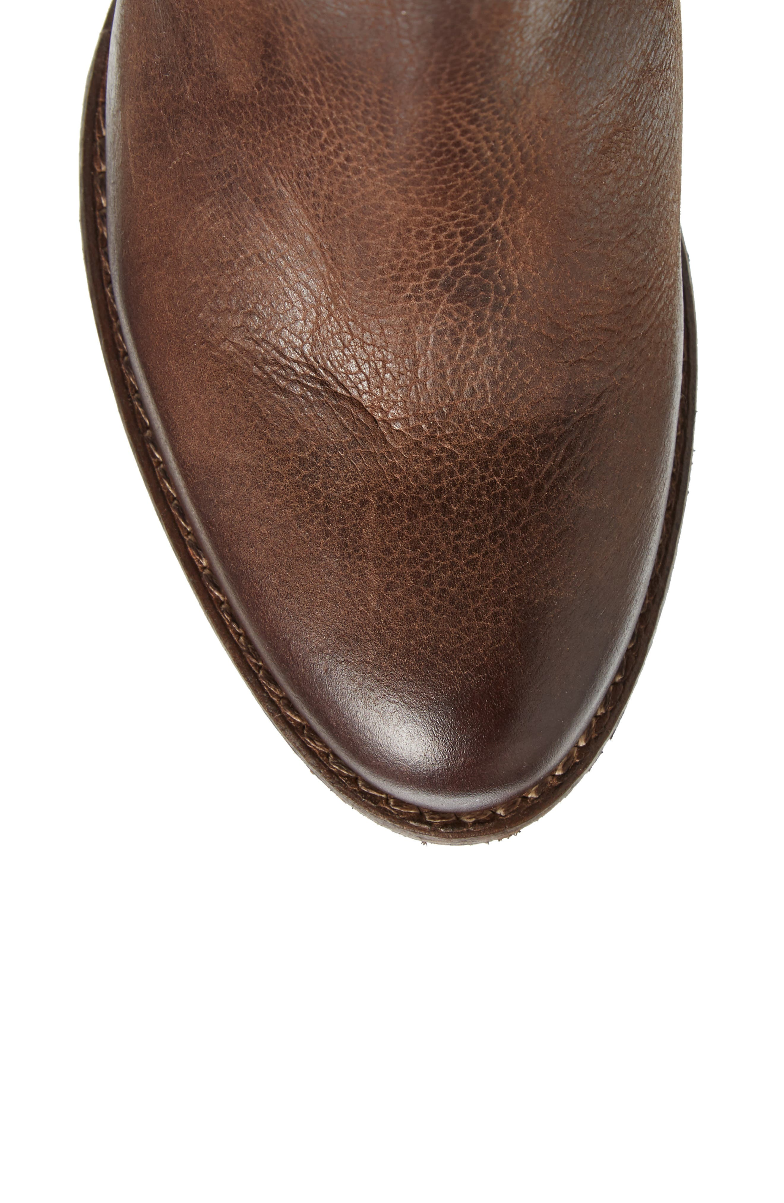 Flacon Boot,                             Alternate thumbnail 5, color,                             Brown Leather