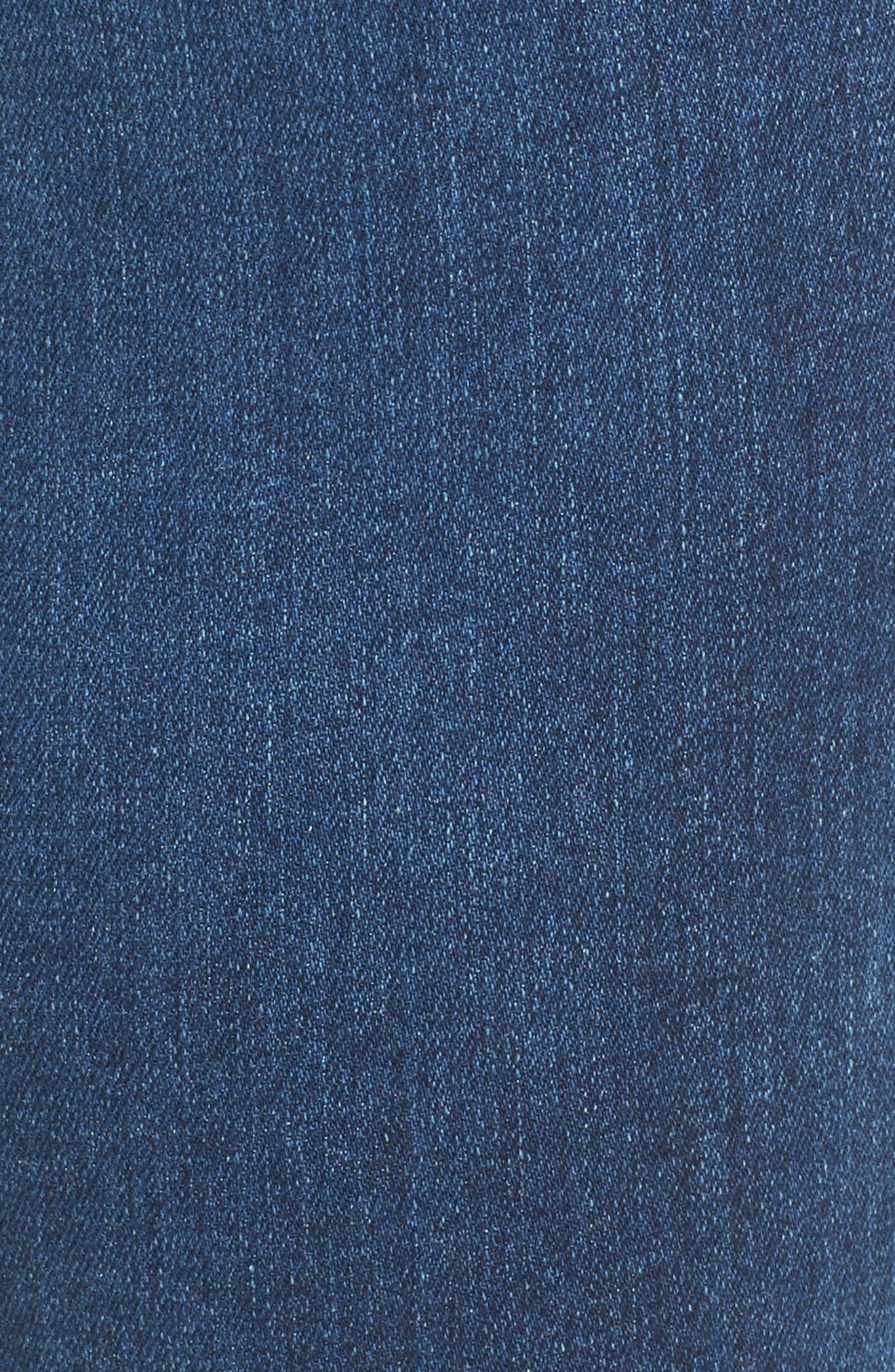 Alternate Image 5  - AG The Legging Ankle Super Skinny Jeans