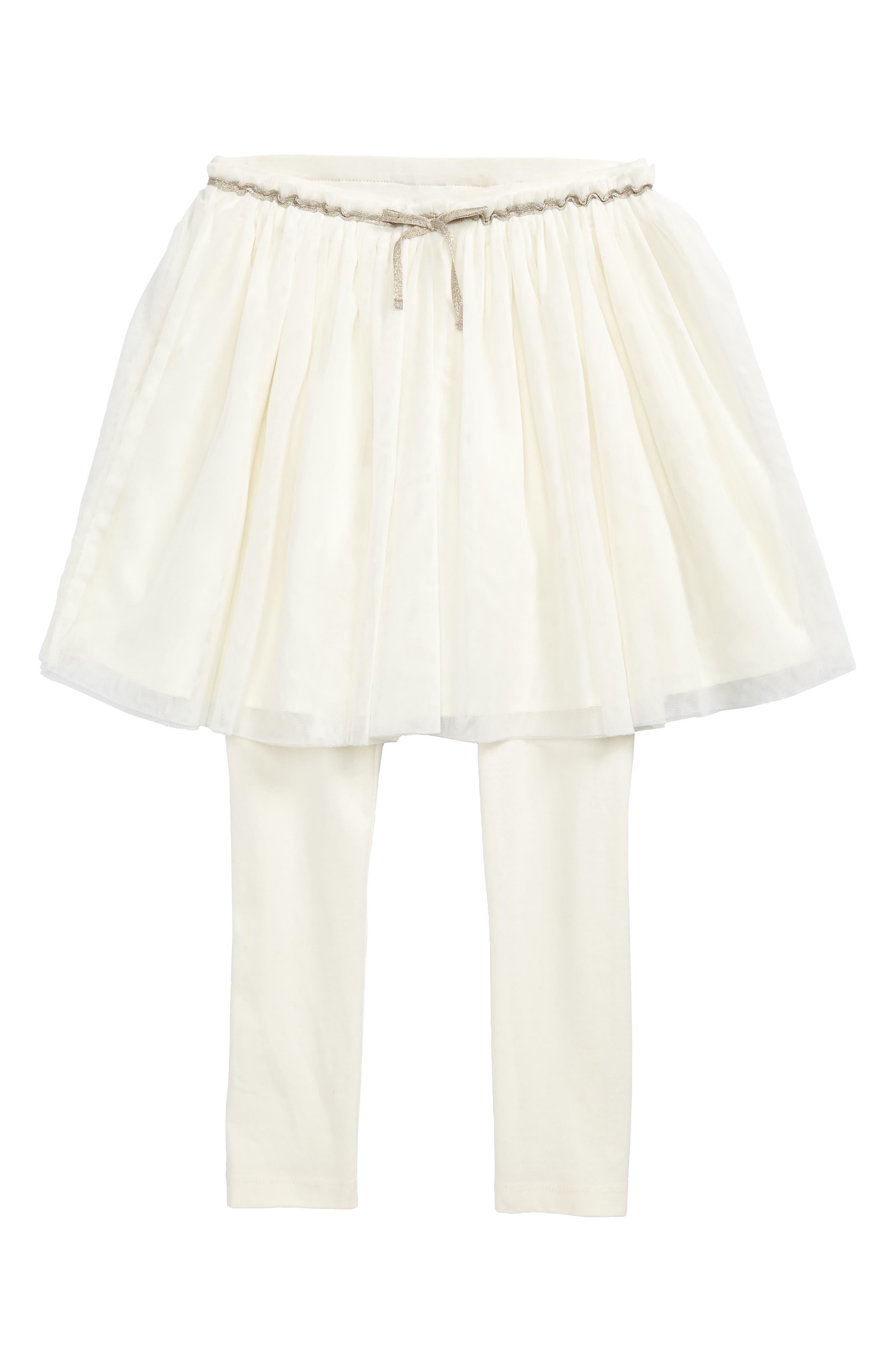 Alternate Image 1 Selected - Tucker + Tate Skirted Leggings (Toddler Girls, Little Girls & Big Girls)
