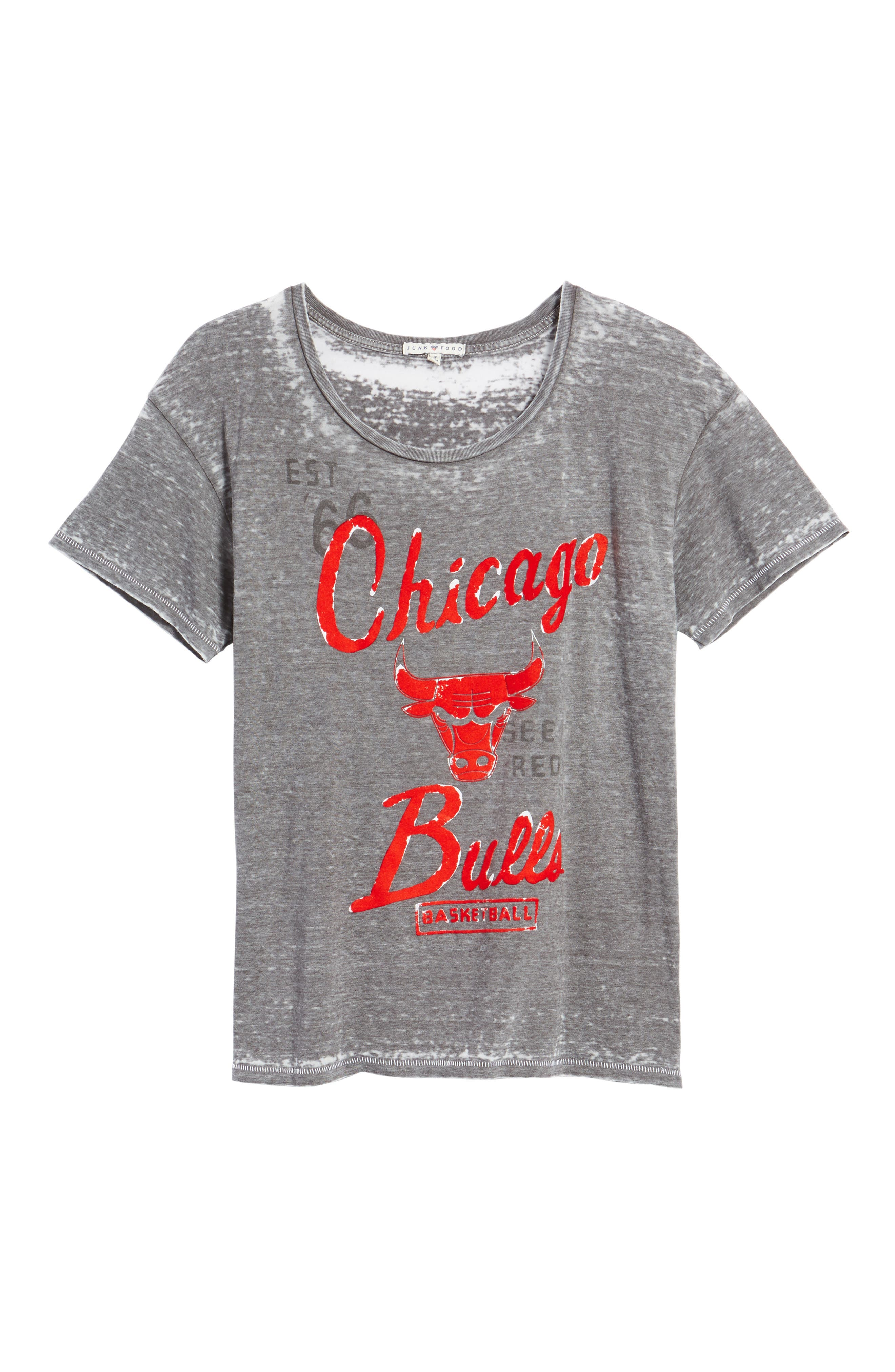 Alternate Image 6  - Junk Food NBA Chicago Bulls Tee