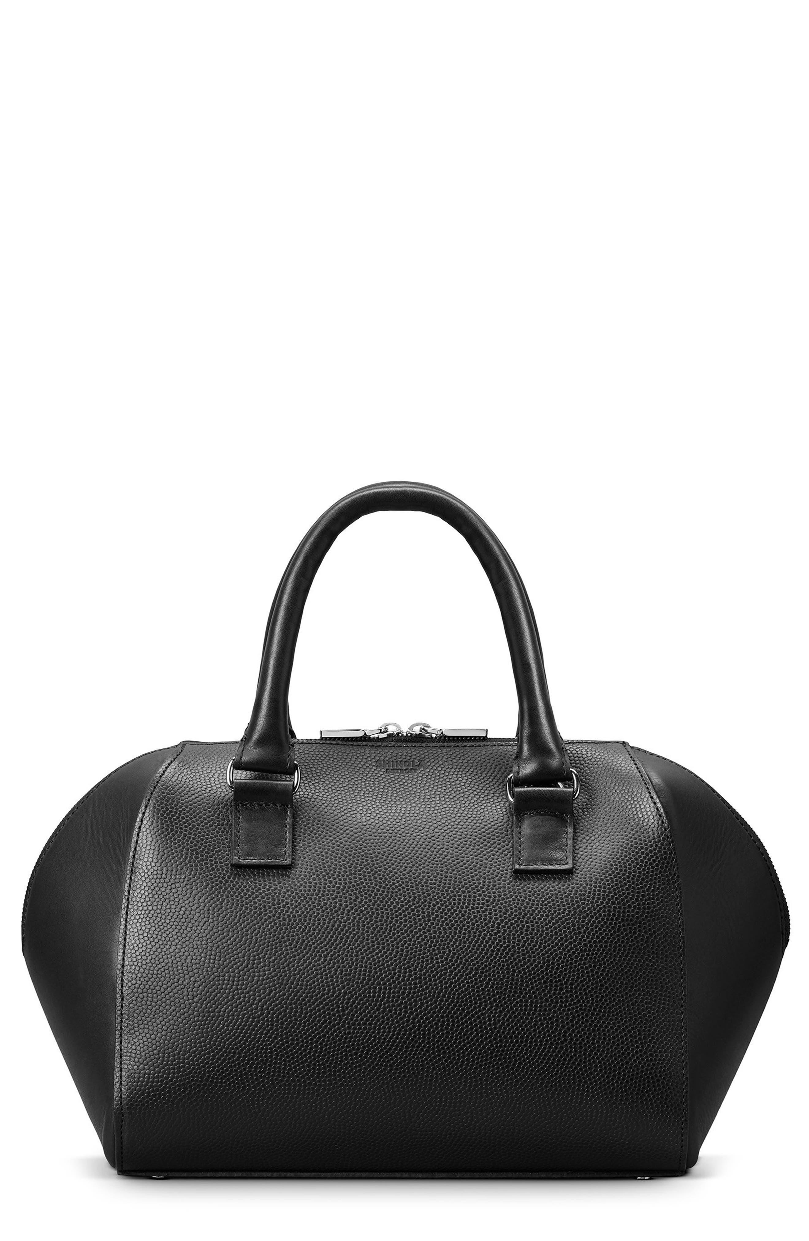 Shinola Latigo Leather Domed Satchel