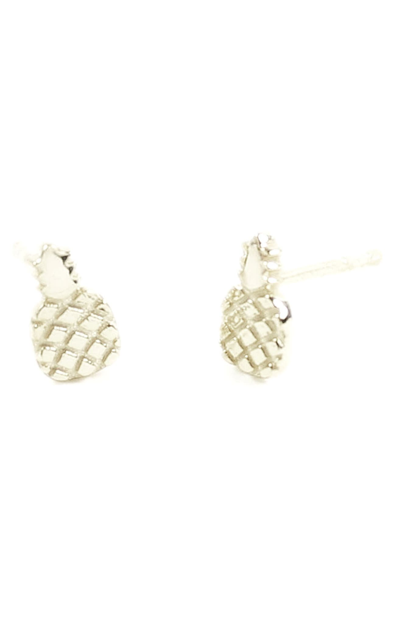 Kris Nations Pineapple Stud Earrings