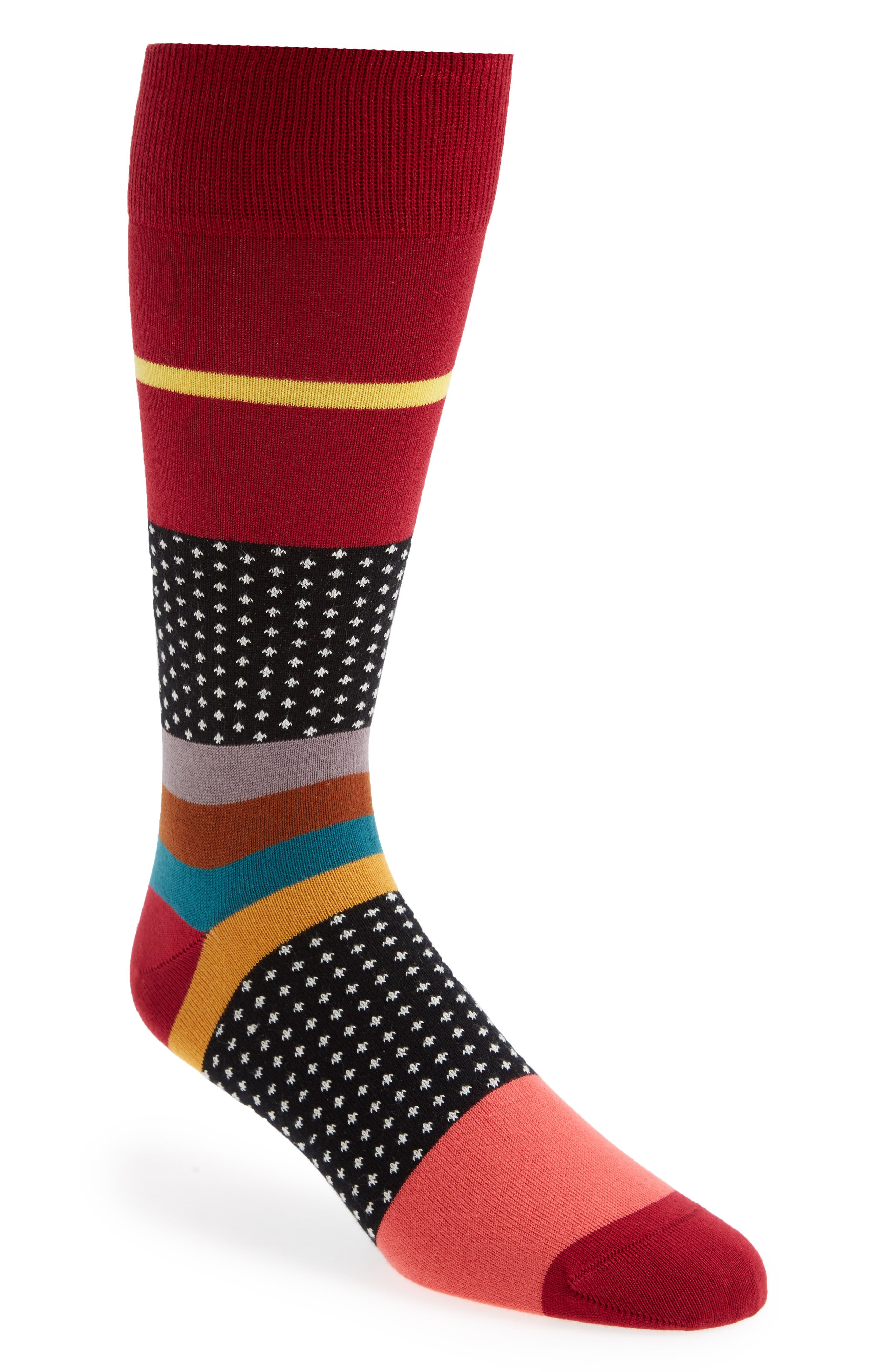 Paul Smith Spot Stripe Socks